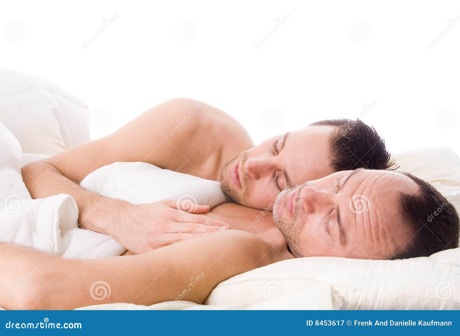 gay couple slee