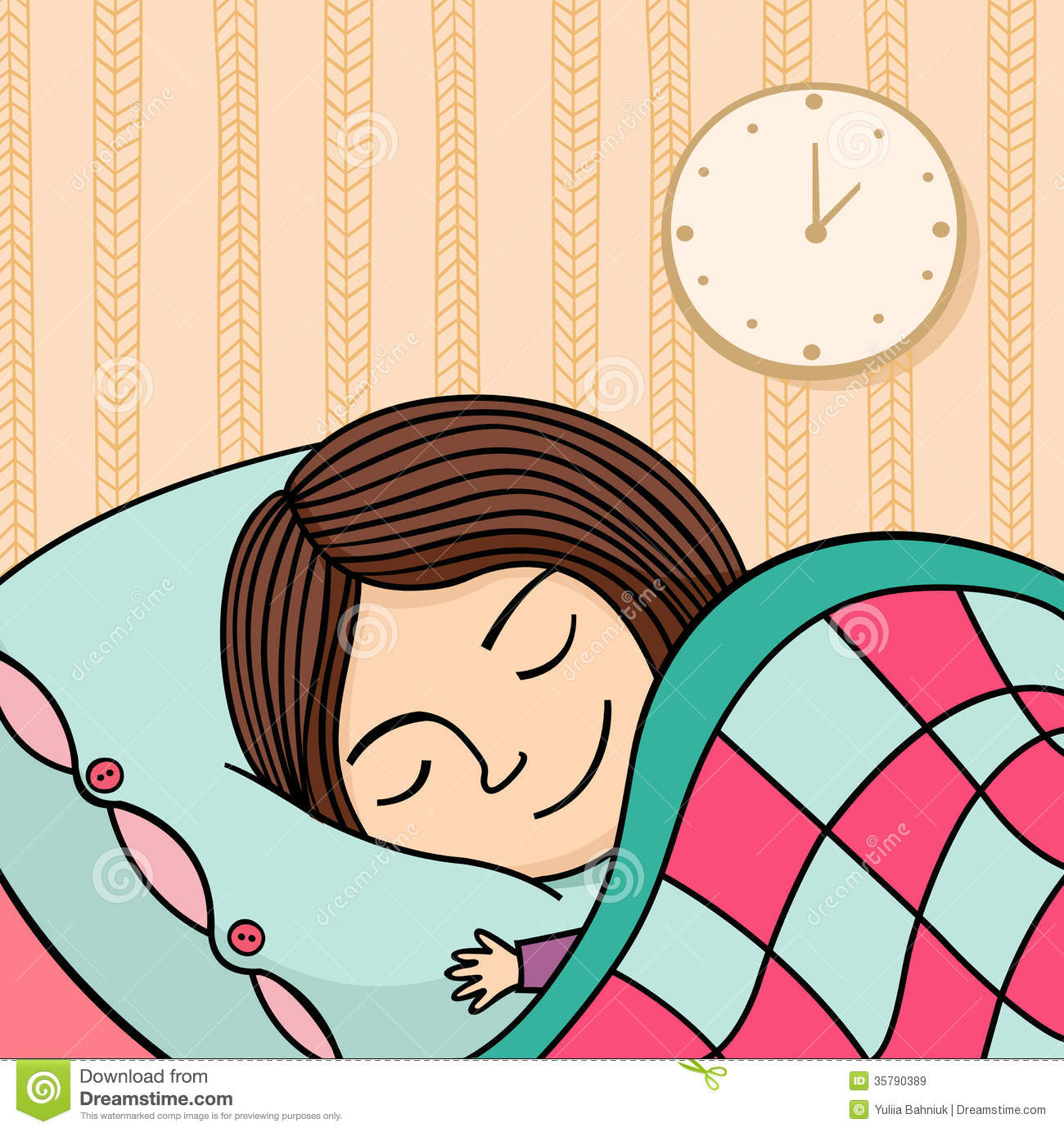 Sleeping Girl Royalty Free Stock Images - Image: 35790389