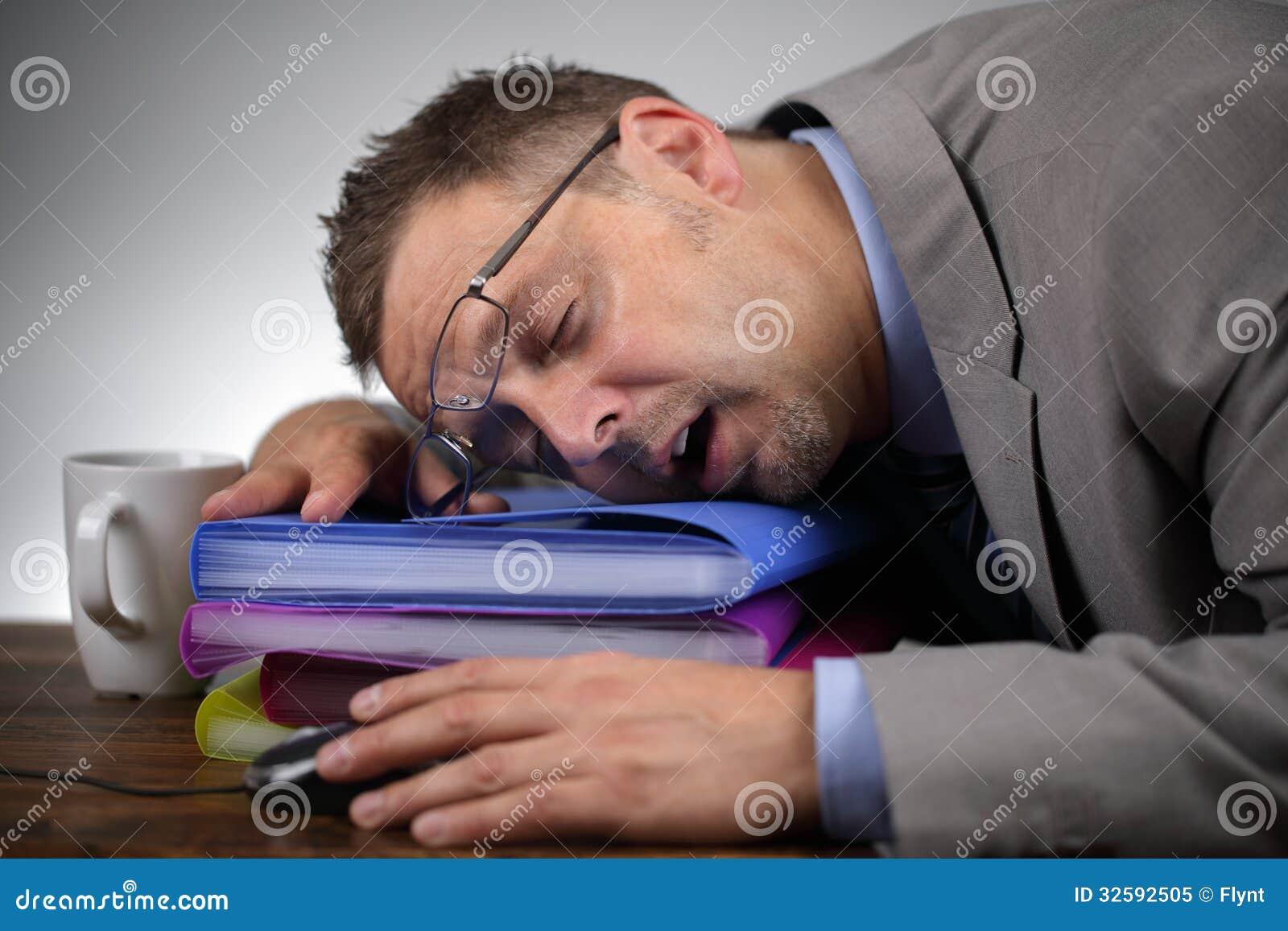 Sleeping on the job royalty free stock photo image 32592505
