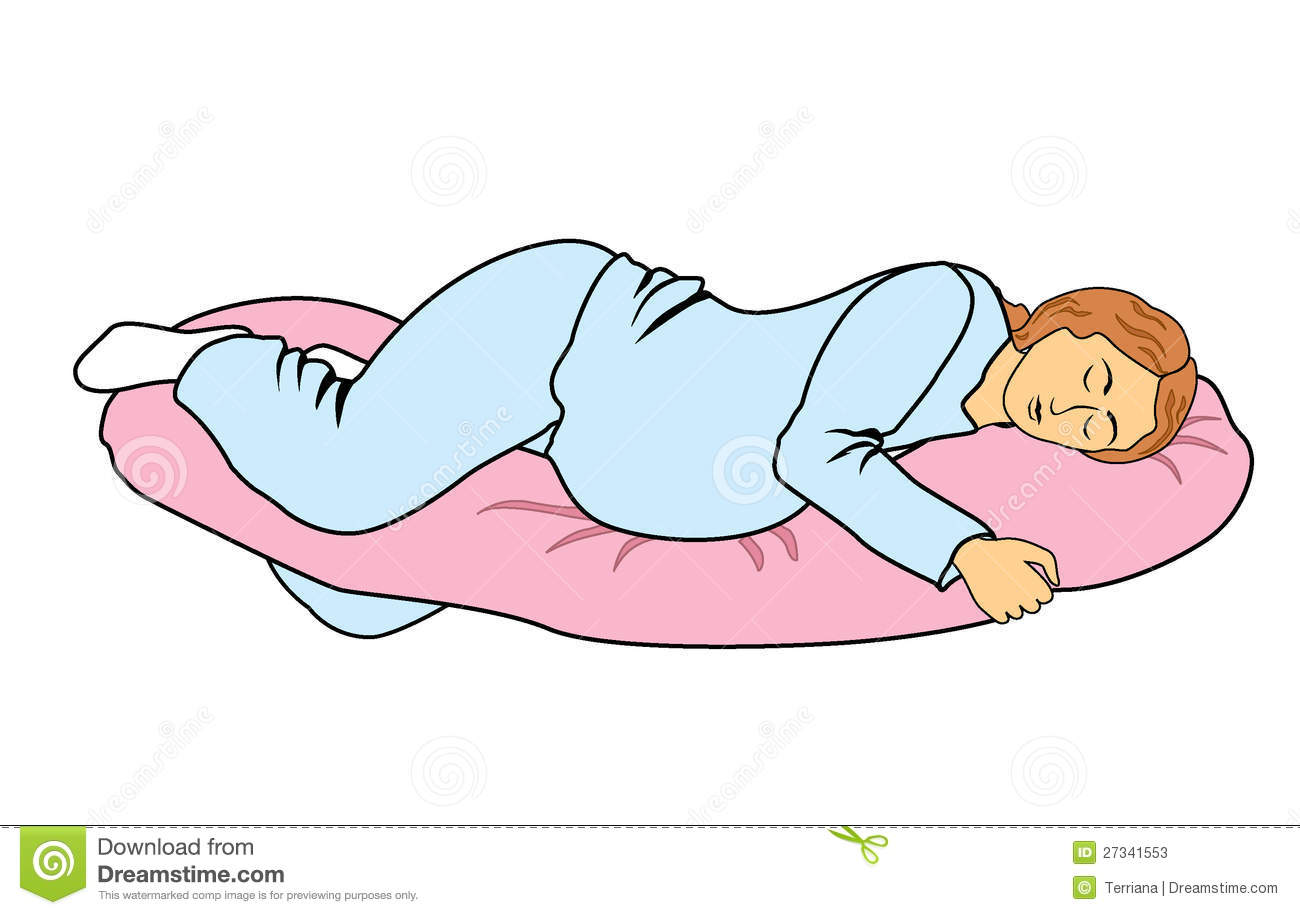 How To Sleep On A Pregnancy Pillow