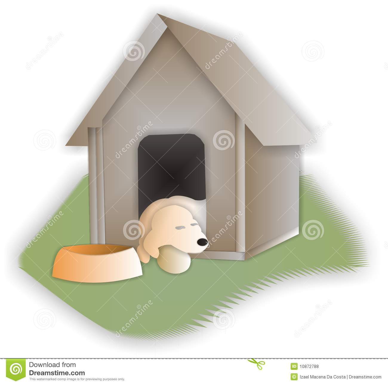 Draw A Dog House
