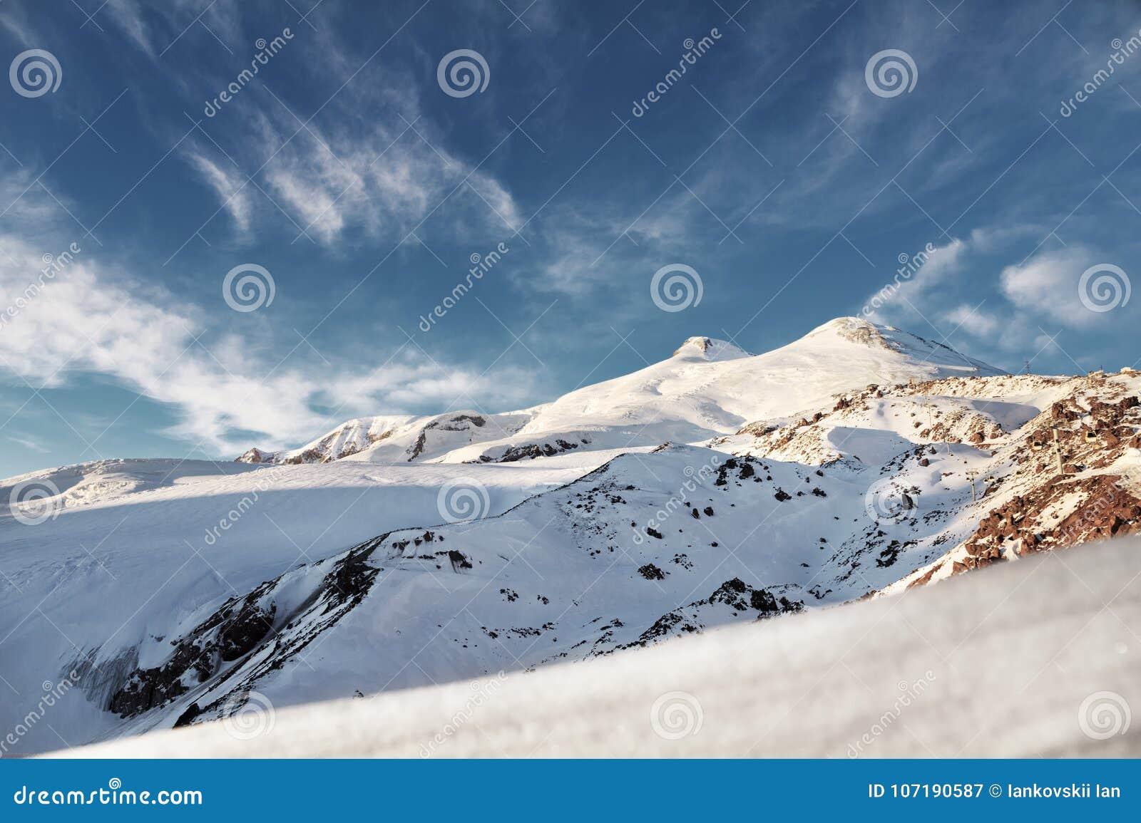 Where is the volcano Elbrus 29