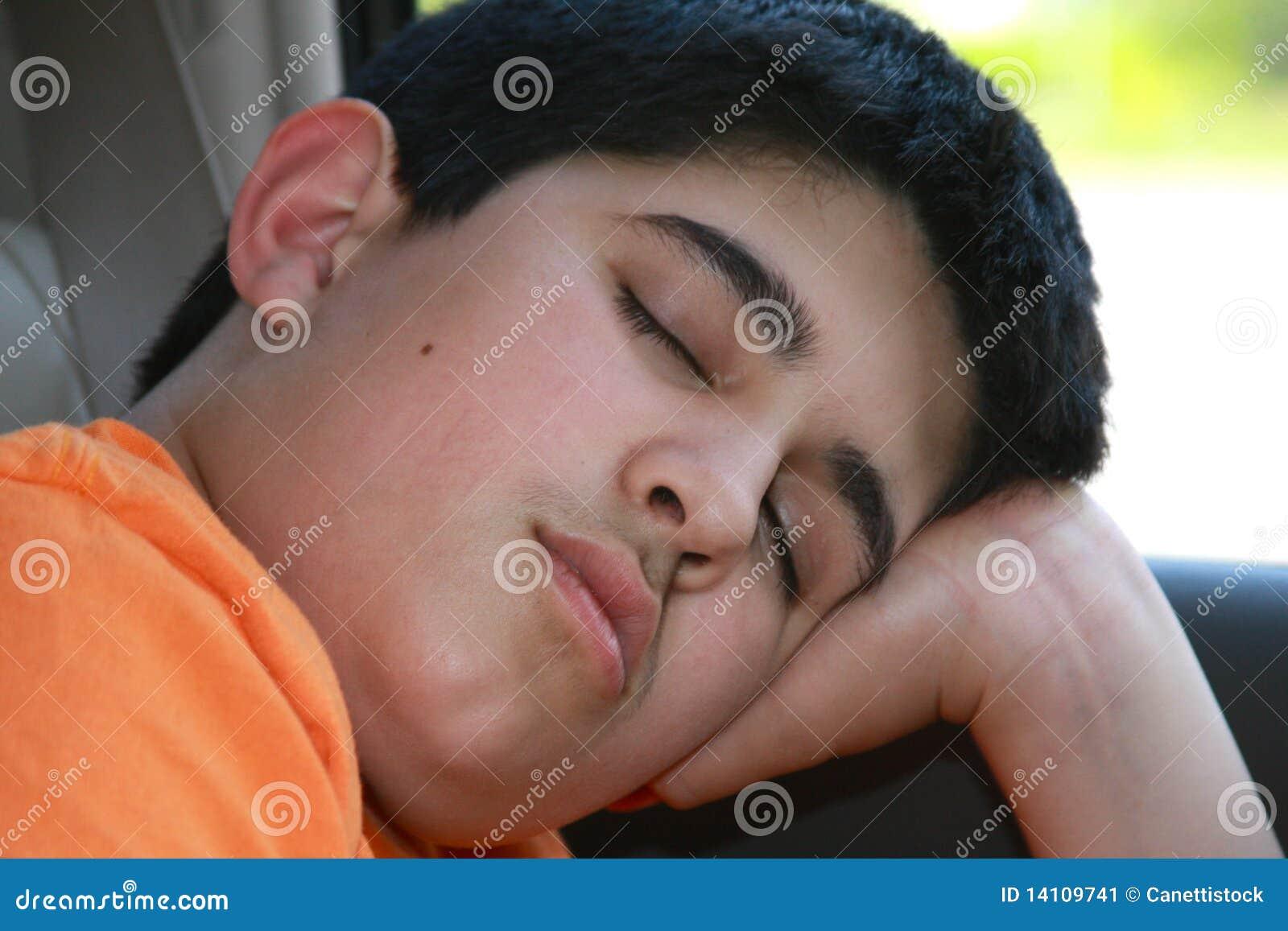 Sleeping Teen Thumbs 14