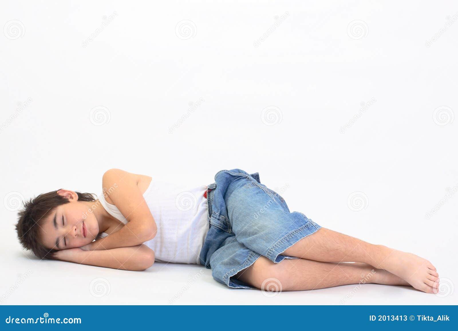 Sleeping Teen Thumbs 26