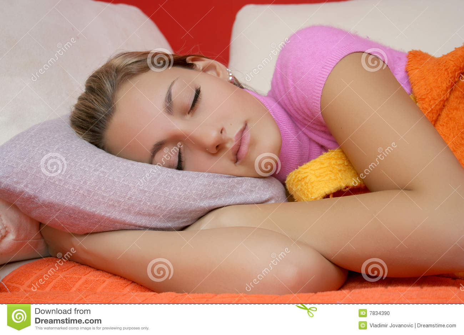 Site Map Sleeping Teen 118