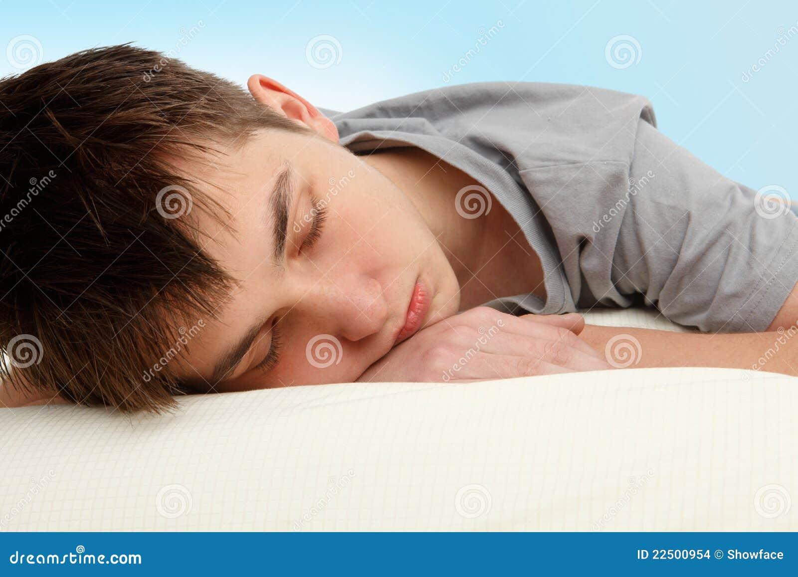 Sleeping Teen Thumbs 76