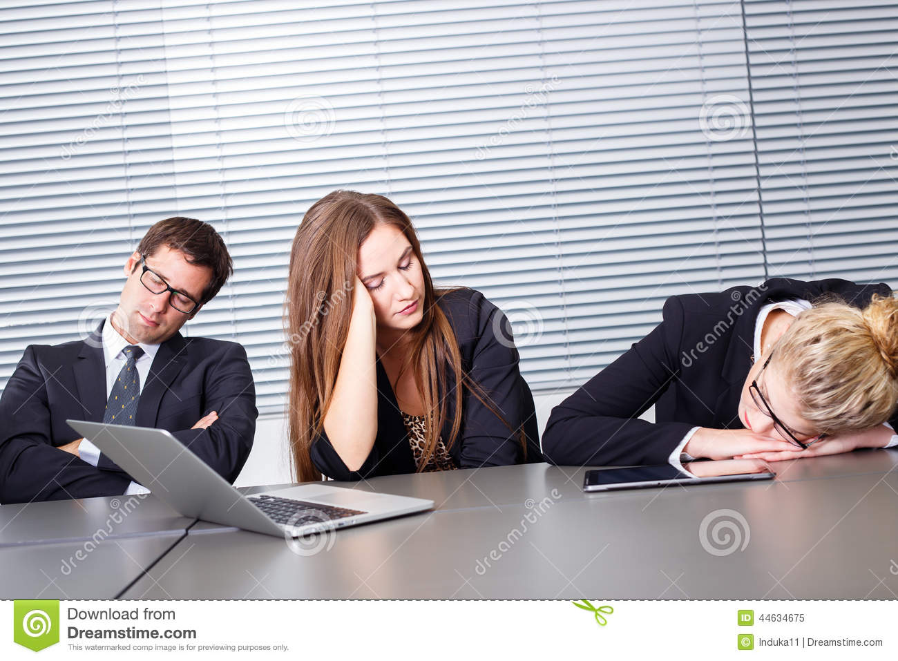 sleeping at work stock image image of businesswoman 44634675