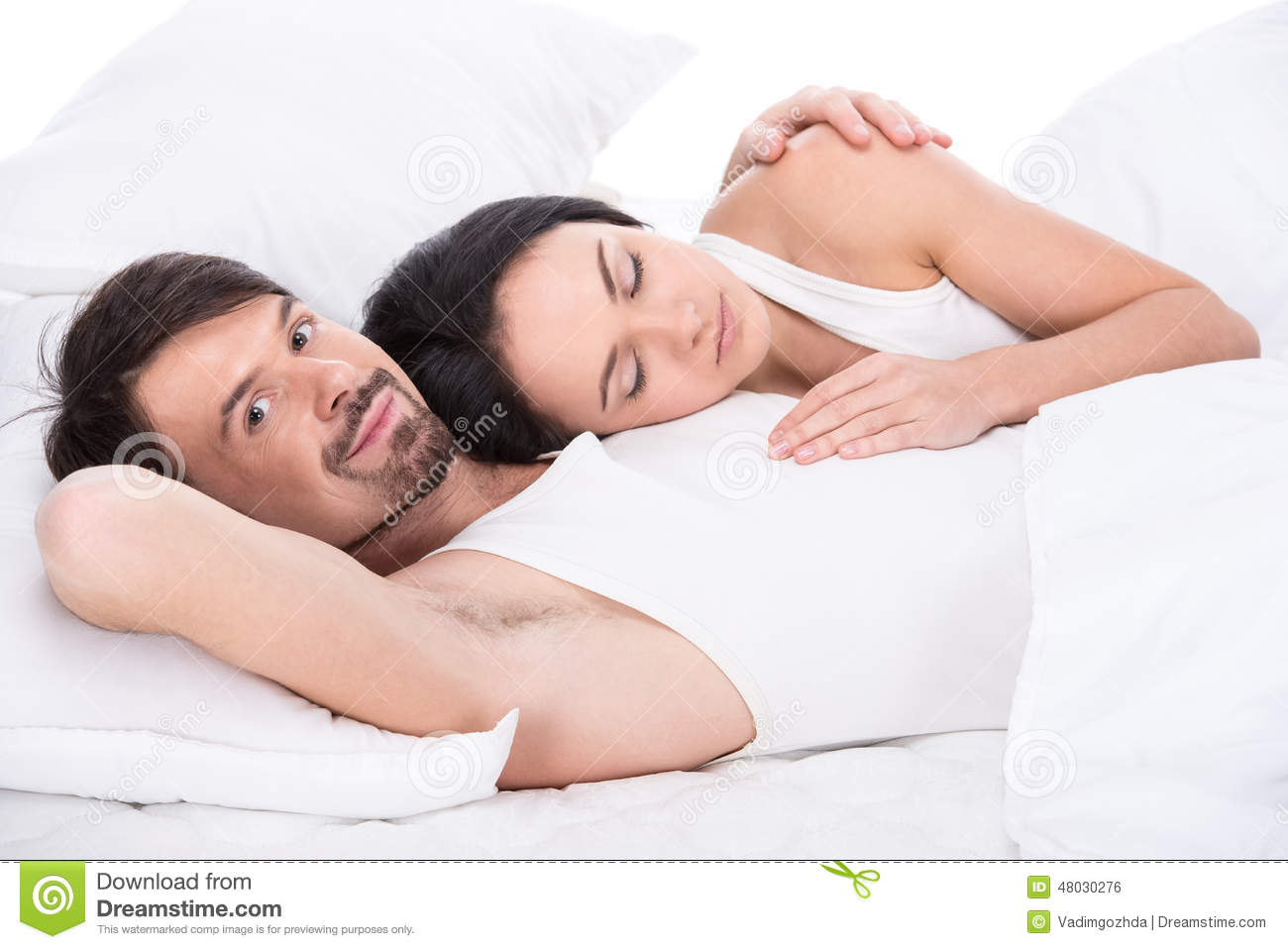 Sleeping Stock Photo Image 48030276