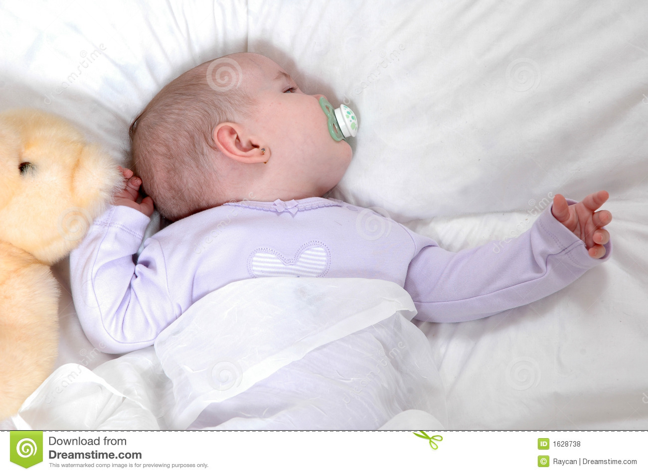 Sleepy Baby Royalty Free Stock Photos - Image: 1628738