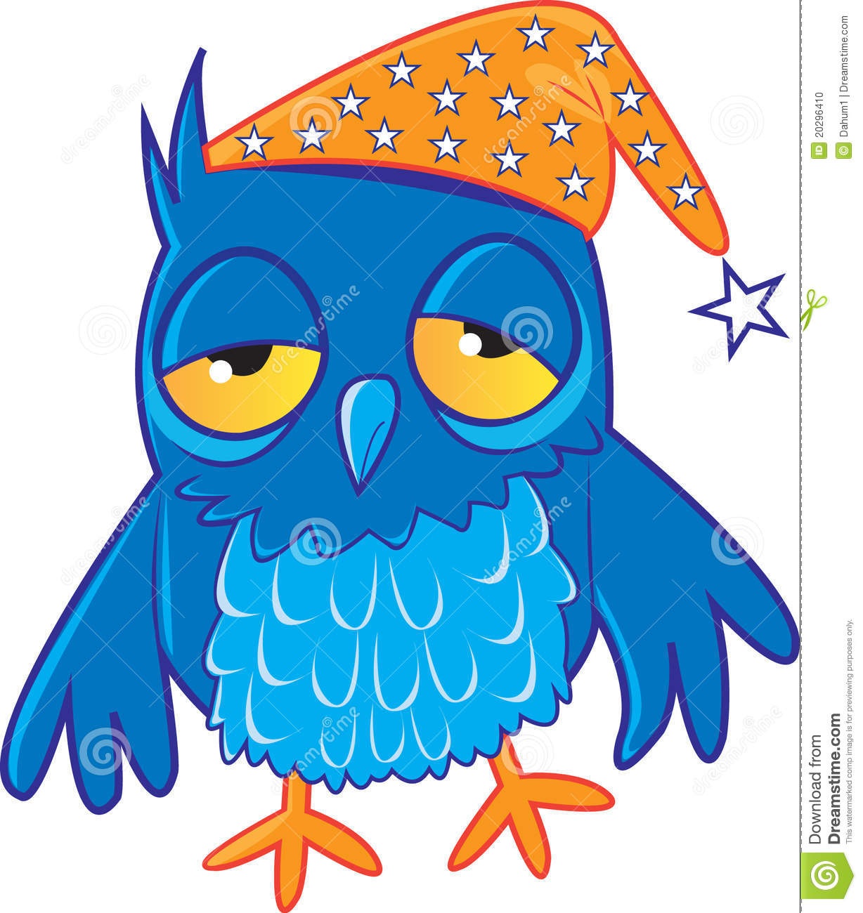Sleepy Owl Stock Photo - Image: 20296410