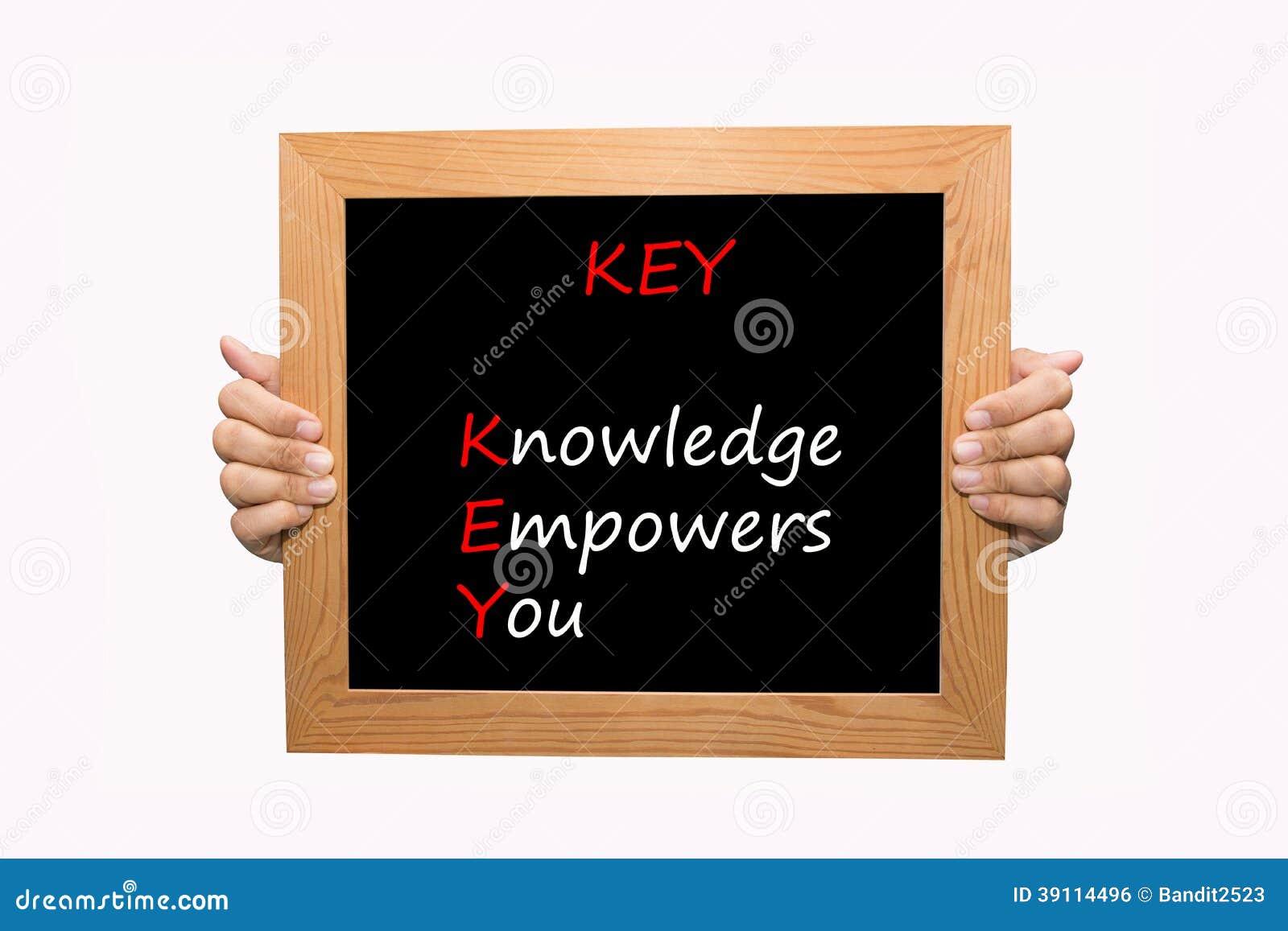 SLEUTEL - De kennis machtigt u