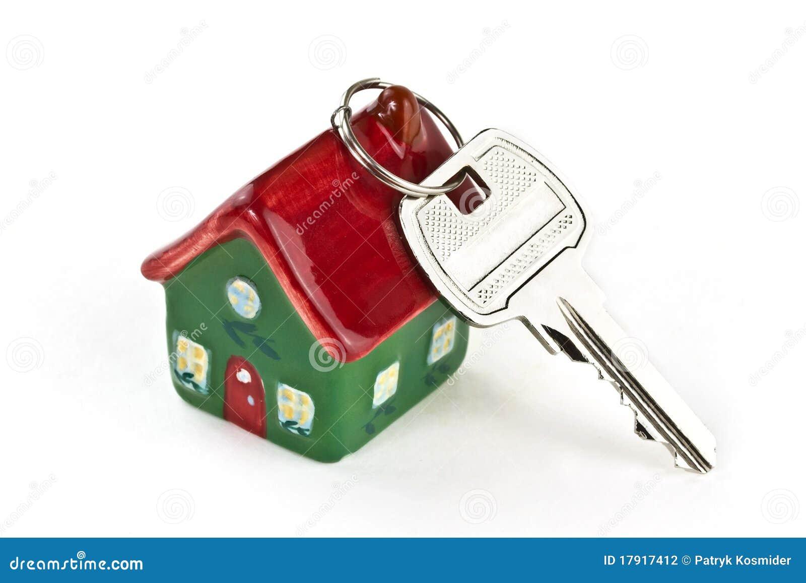 Sleutel tot nieuw huis stock foto afbeelding bestaande uit moving 17917412 - Nieuw huis binneninrichting ...