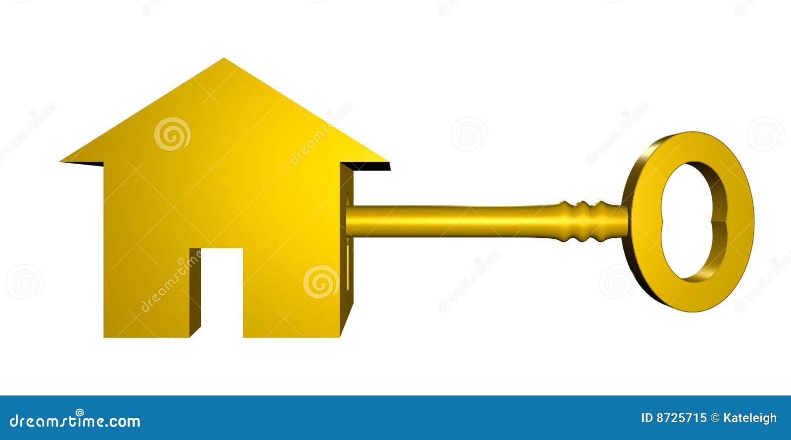Sleutel tot nieuw huis royalty vrije stock foto afbeelding 8725715 - Nieuw huis ...