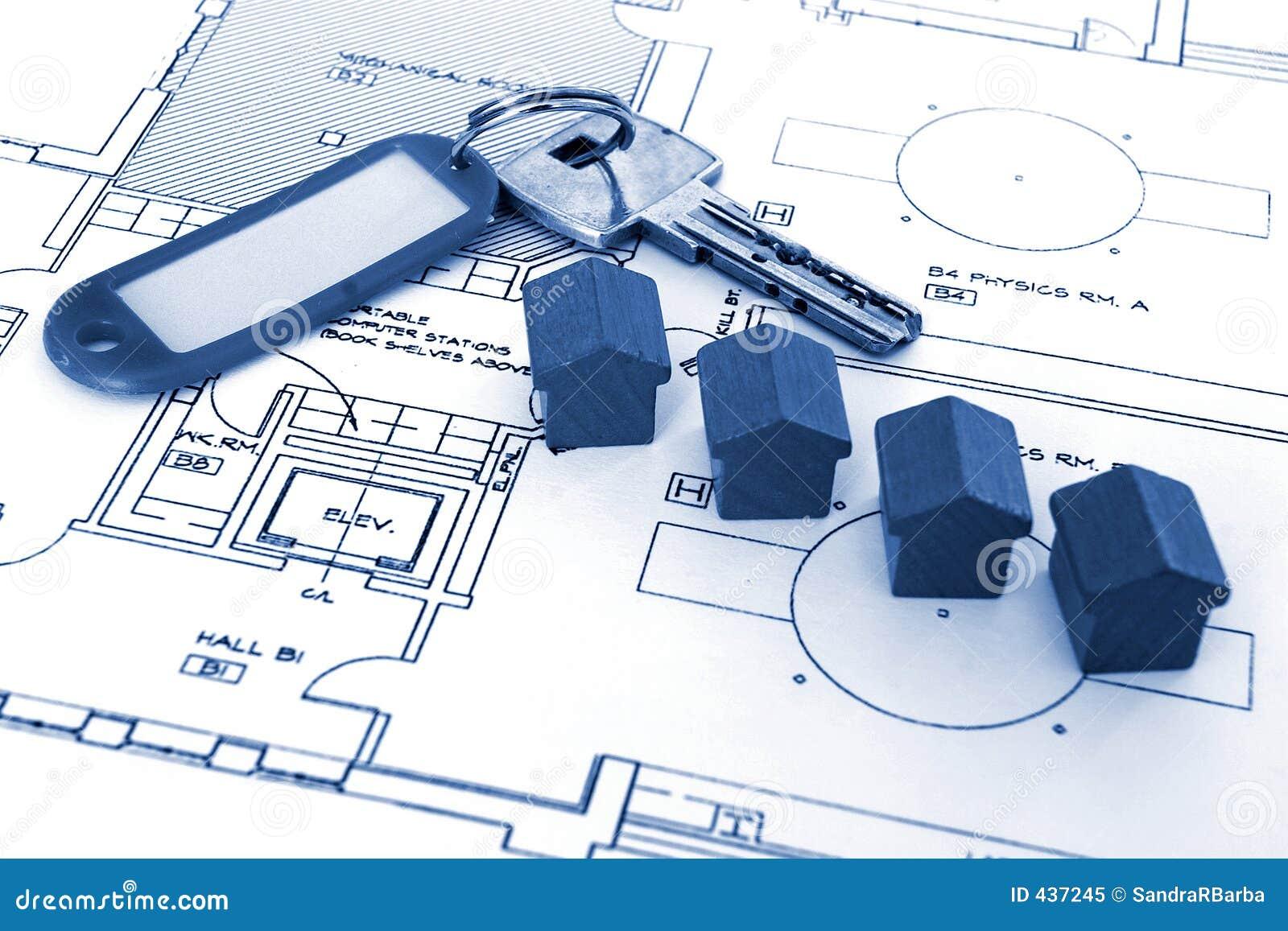 Sleutel voor huizen