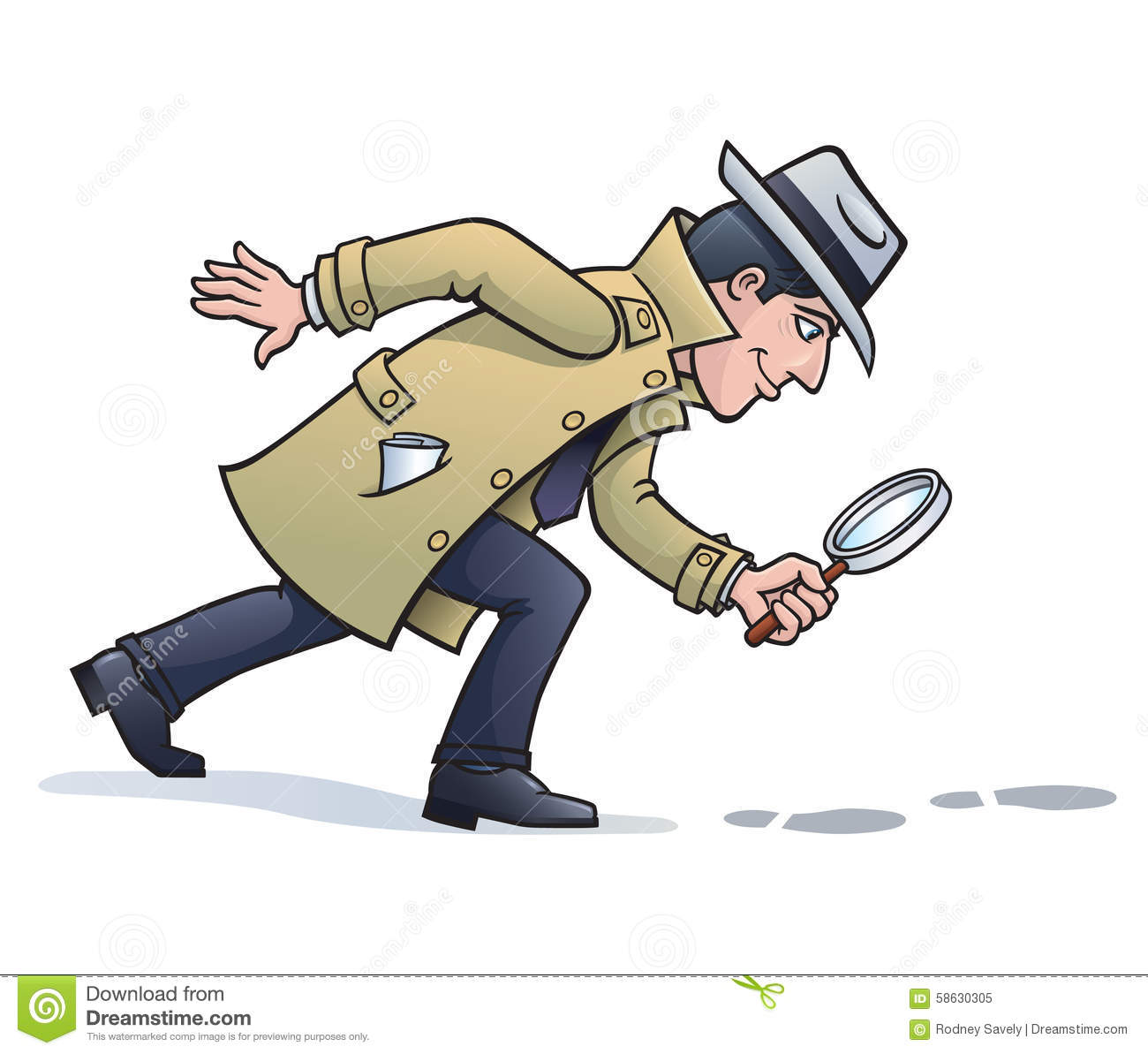 Sleuth Looking For Clu...