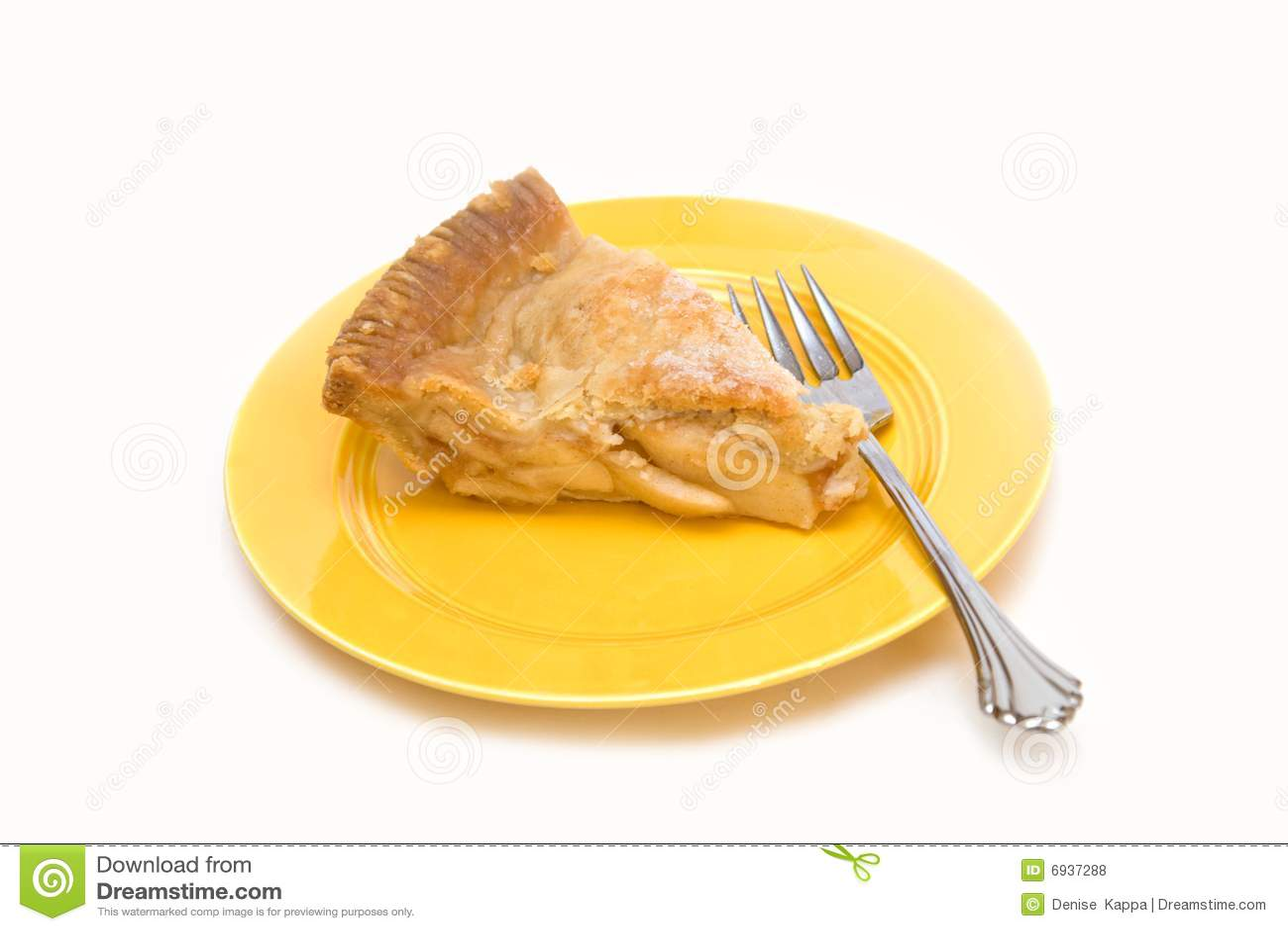 Slice American Apple Pie Royalty Free Stock Photos - Image ...