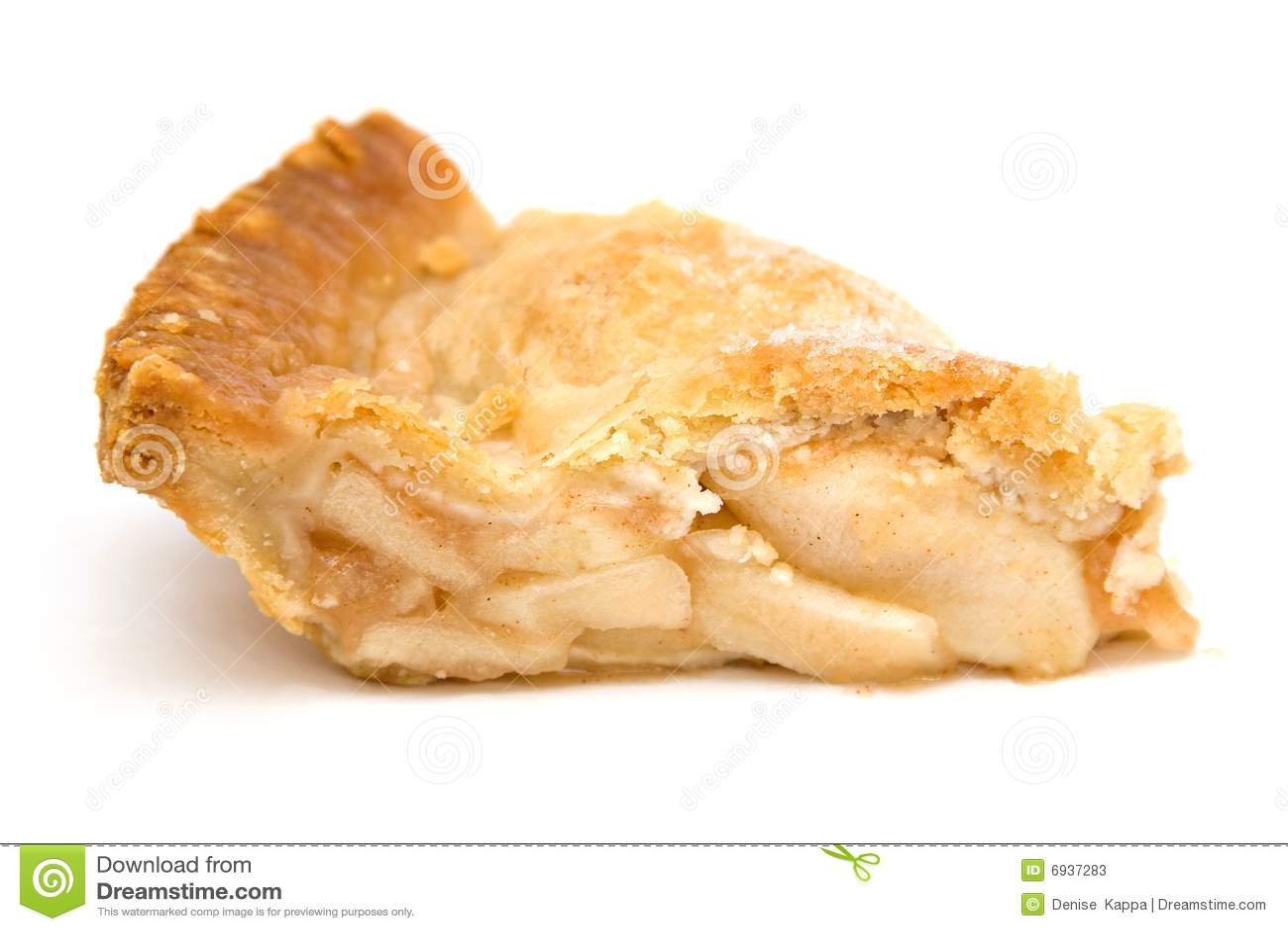 Slice Of Apple Pie Stock Photos - Image: 6937283