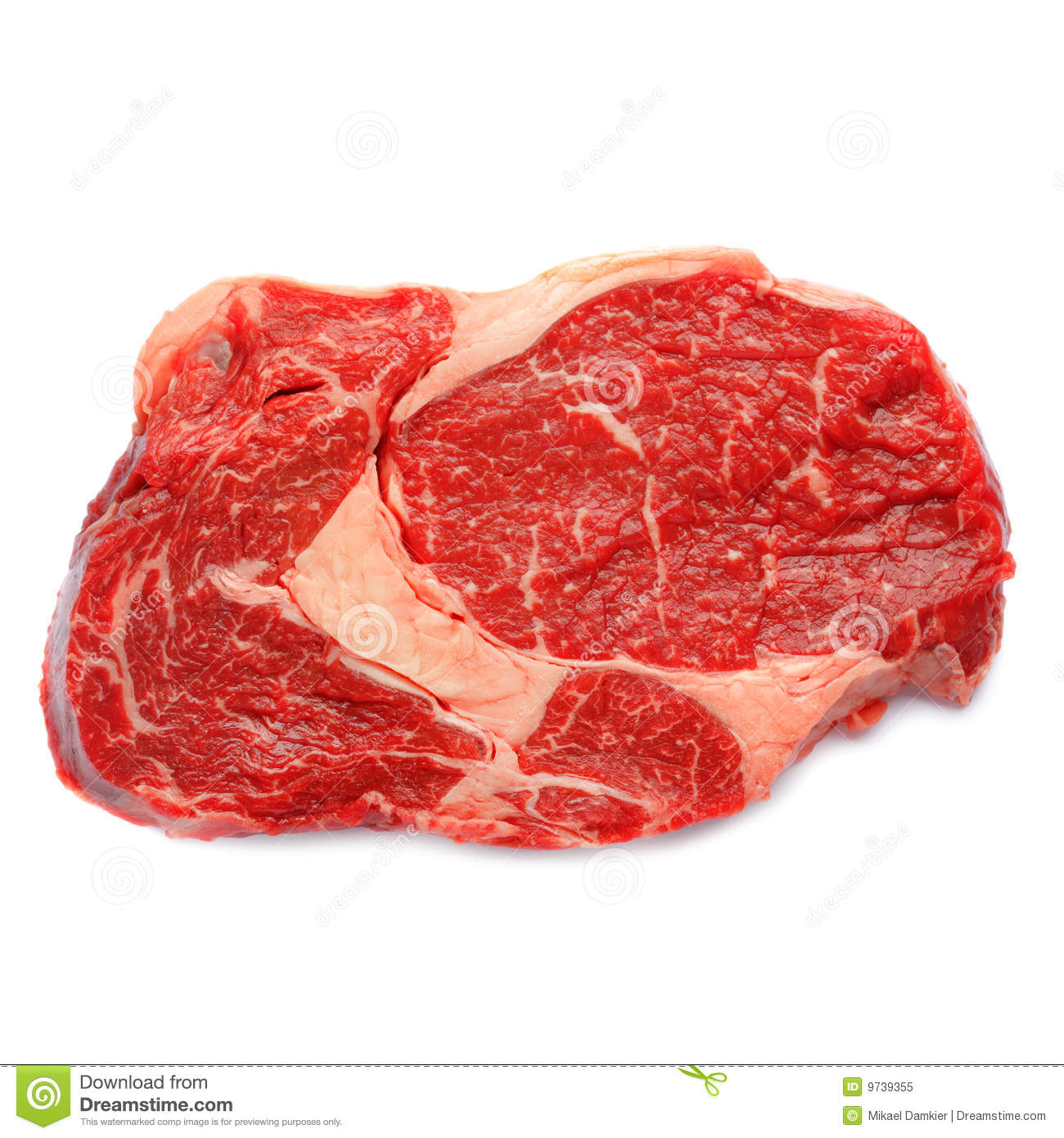 A Slice Of Beef Entrecote Royalty Free Stock Photo Image 9739355