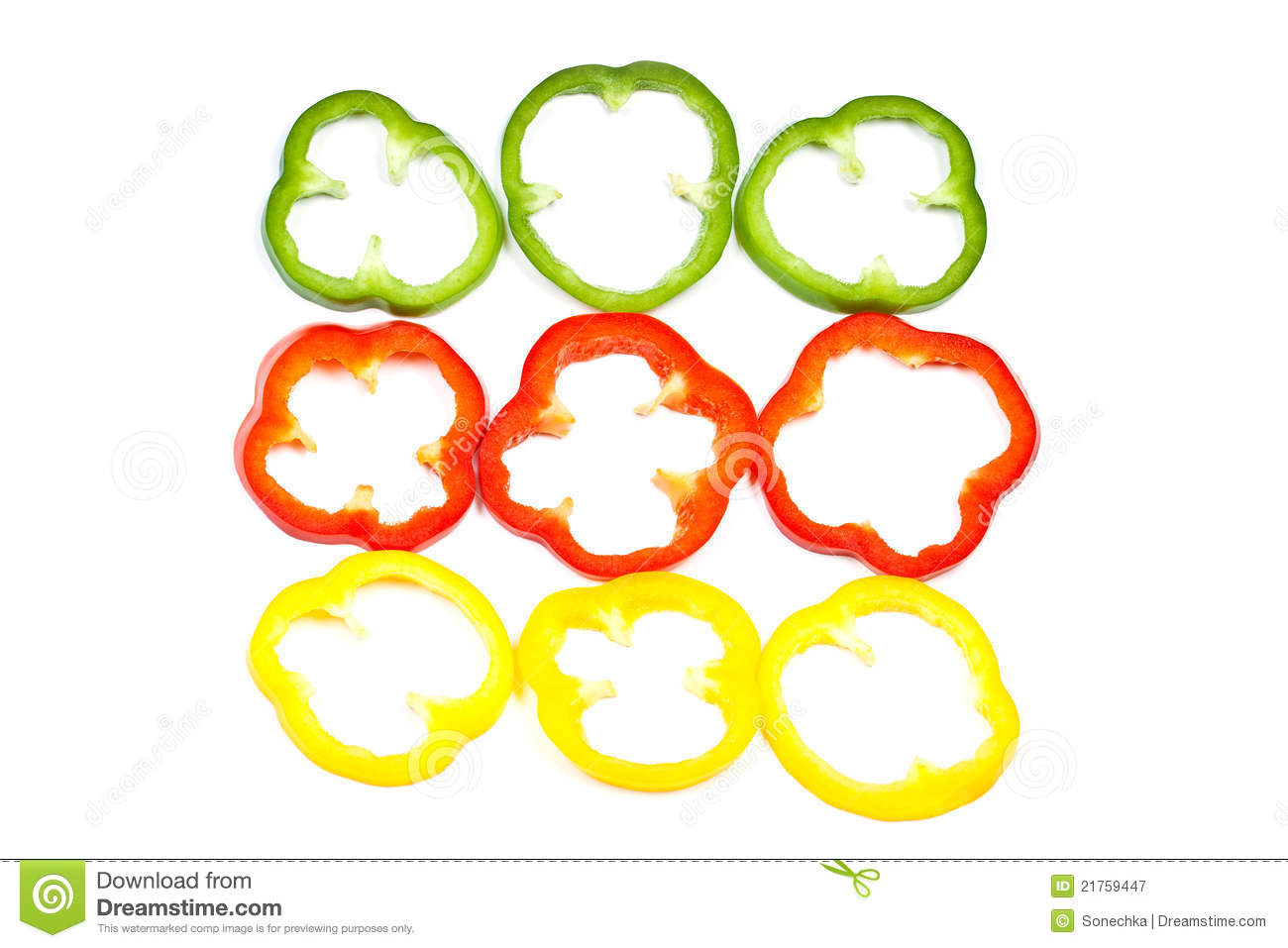 Slice Bell Pepper