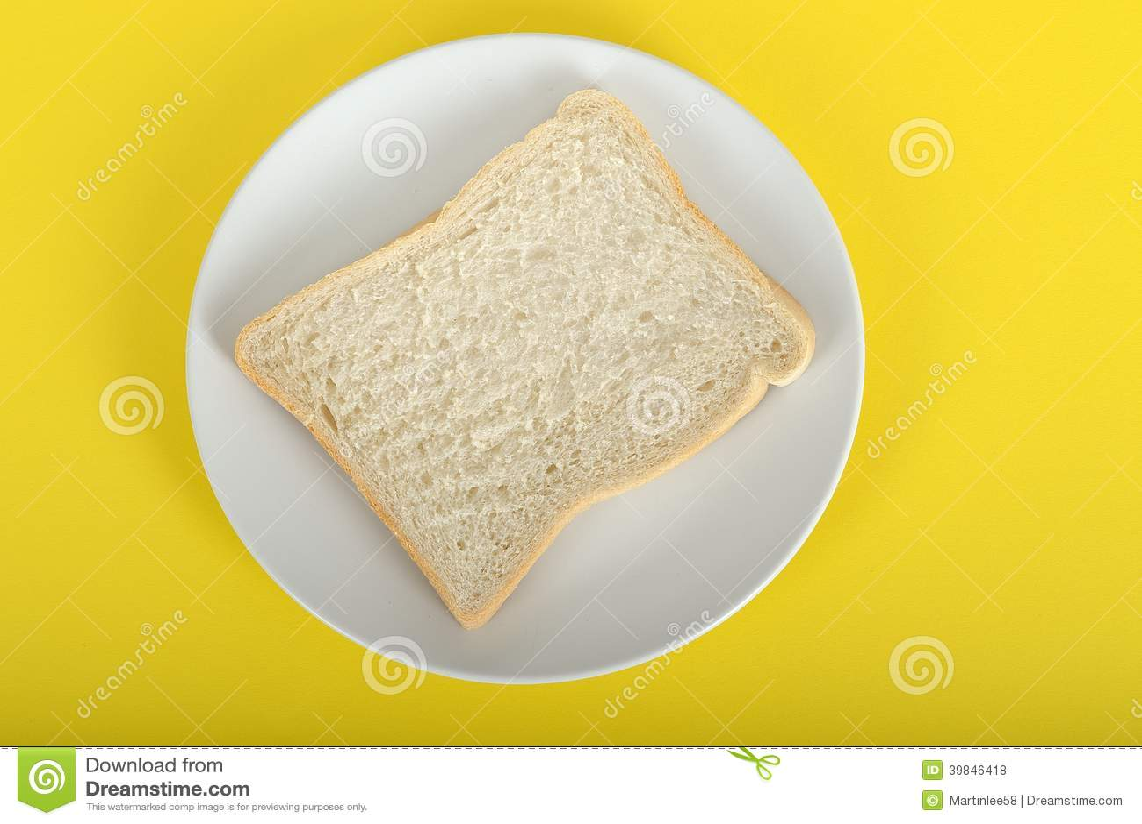 Slice Of Bread Stock Photo - Image: 39846418
