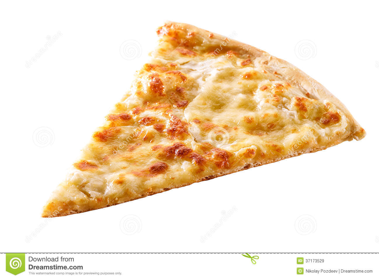 Slice Of Cheese Pizza Close-up Isolated Royalty Free Stock Images ...