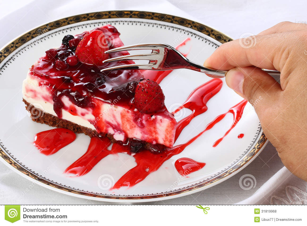 how to draw a slice of cheesecake
