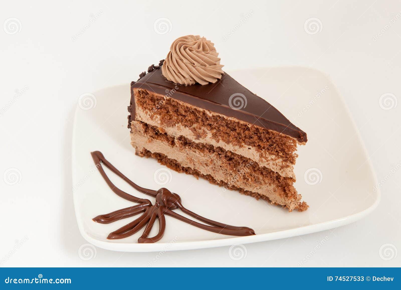 Chocolate Mousse Cake Decoration