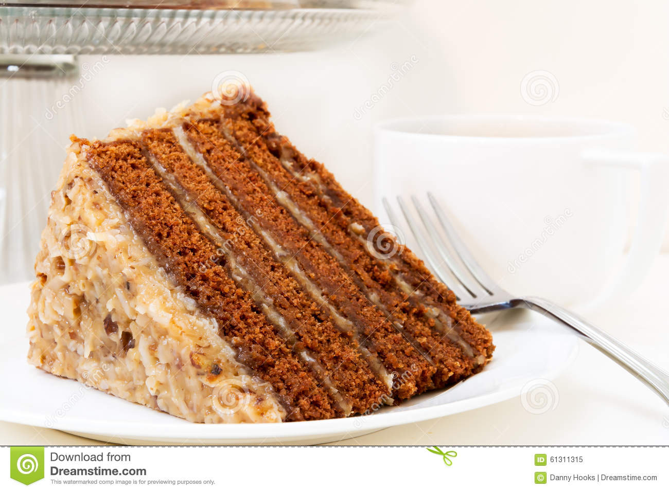 Clara's White German Chocolate Cake Recipe — Dishmaps