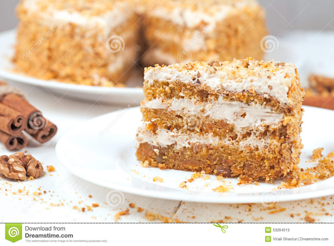 Calories In A Slice Of Cake With Icing