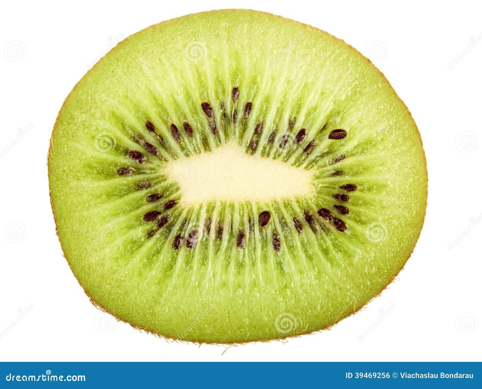 Kiwi fruit cut in half close up - Slice Of Kiwi Stock Photo Image 39469256