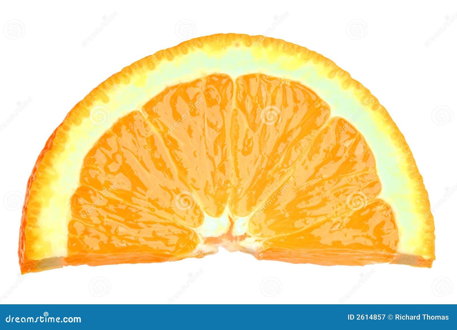 Slice Of Orange Royalty Free Stock Photography - Image: 2614857