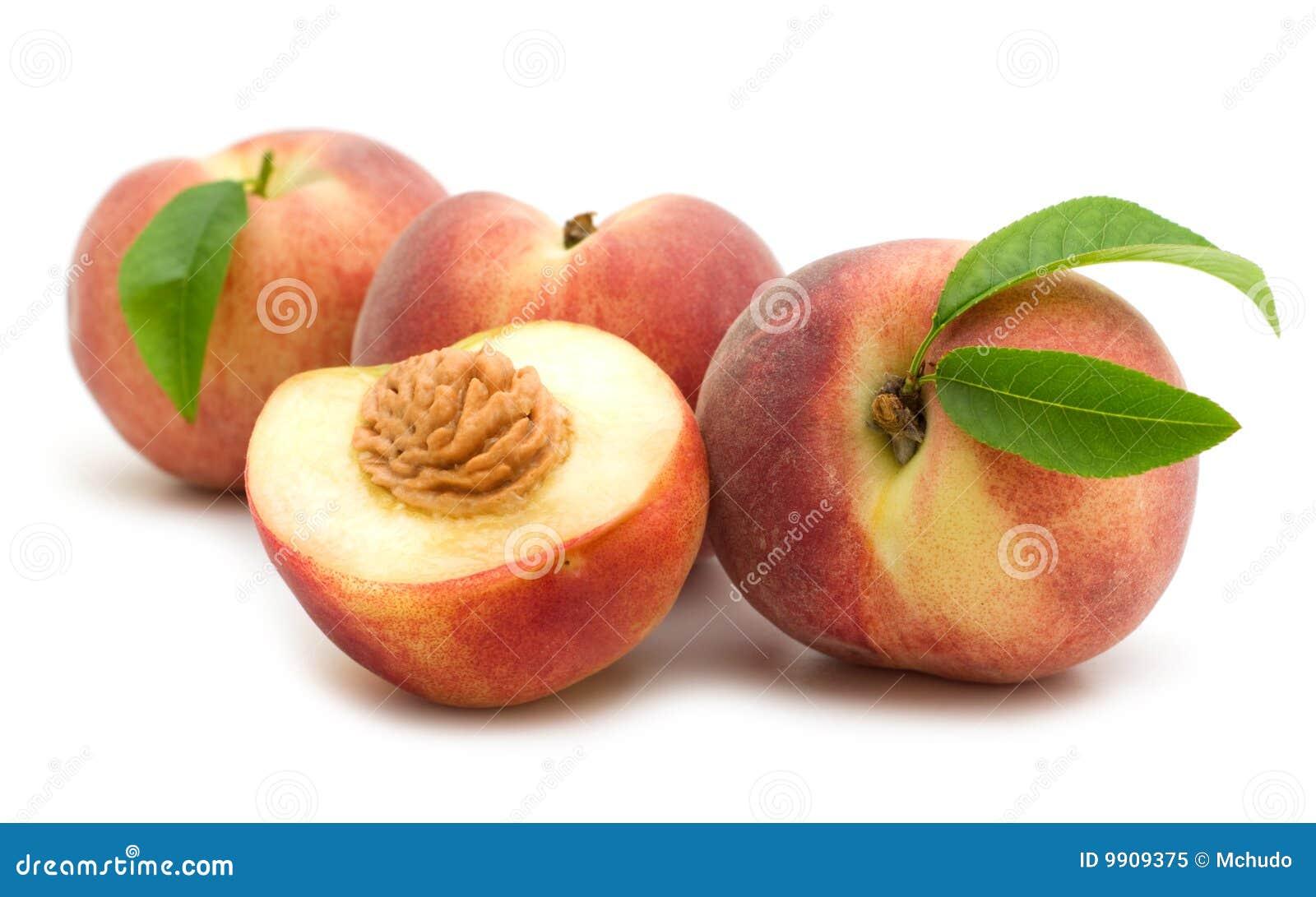 Peach Slice Royalty-Free Stock Photography | CartoonDealer ...