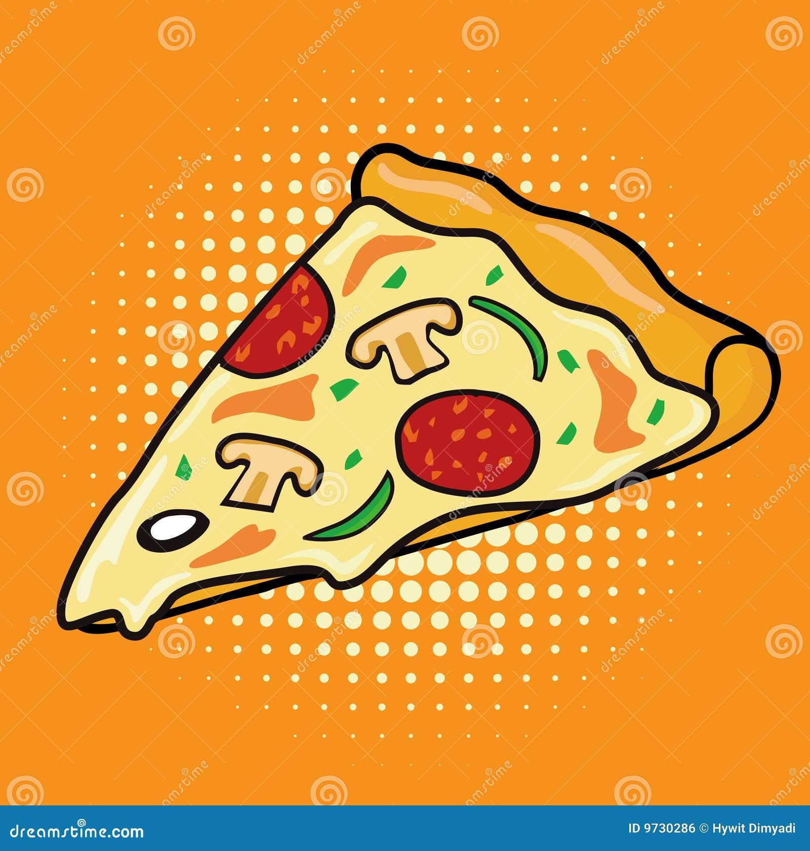 Slice Of Pepperoni Mushroom Pizza Royalty Free Stock Image - Image ...