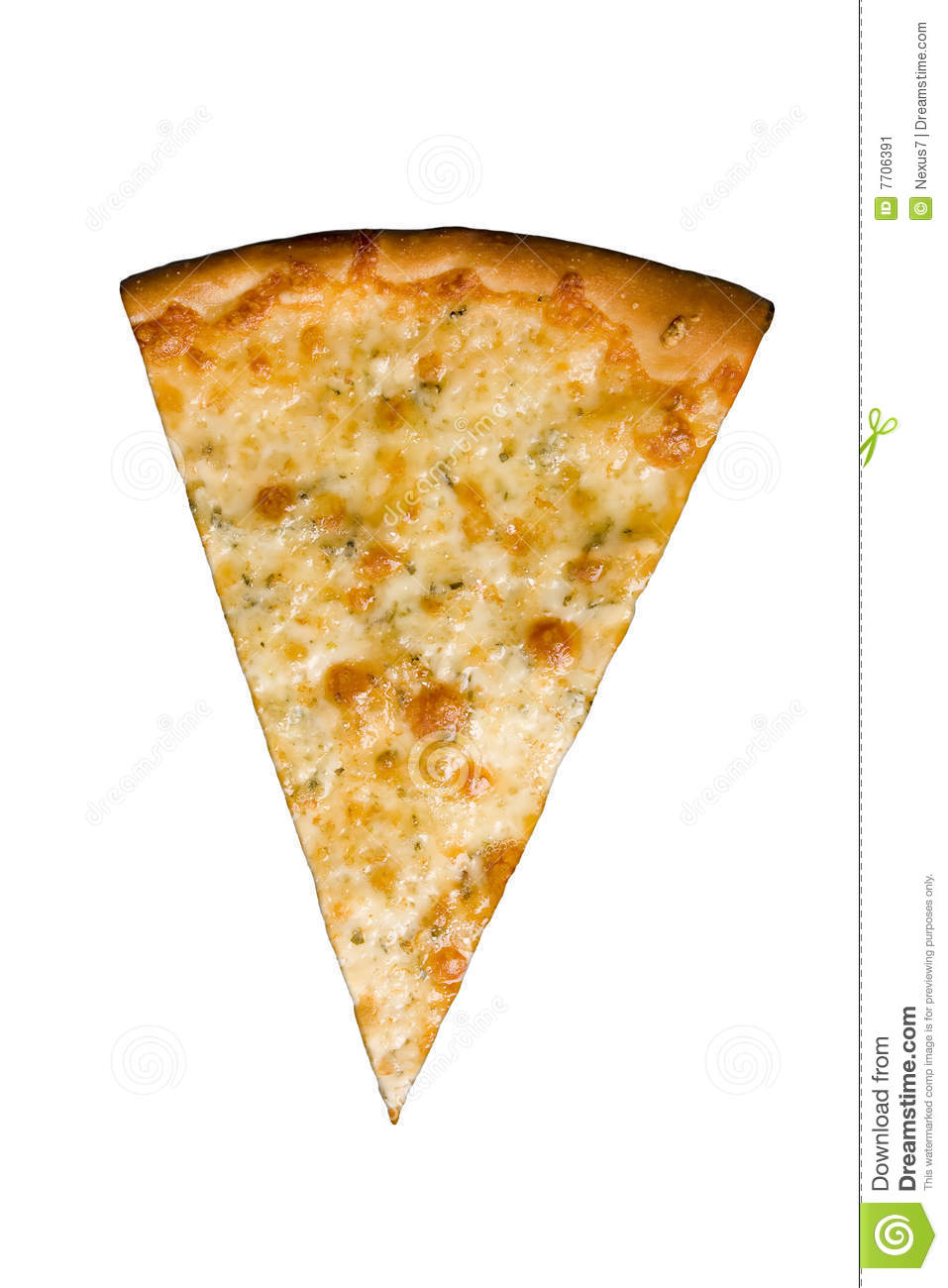 Slice Of Pizza Stock Image - Image: 7706391