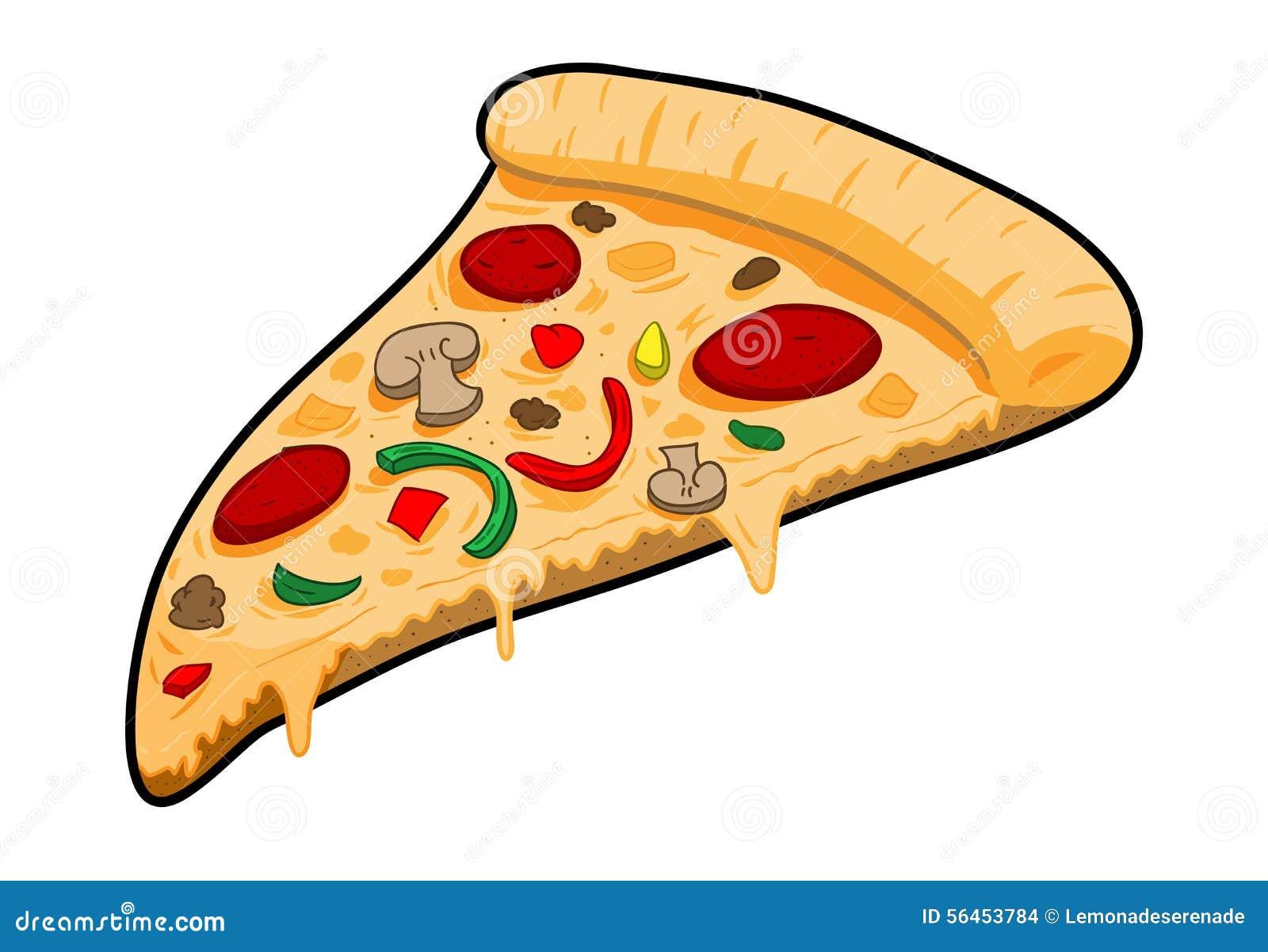 a slice of pizza stock vector image 56453784 pizza slice clipart clipart cheese pizza slice