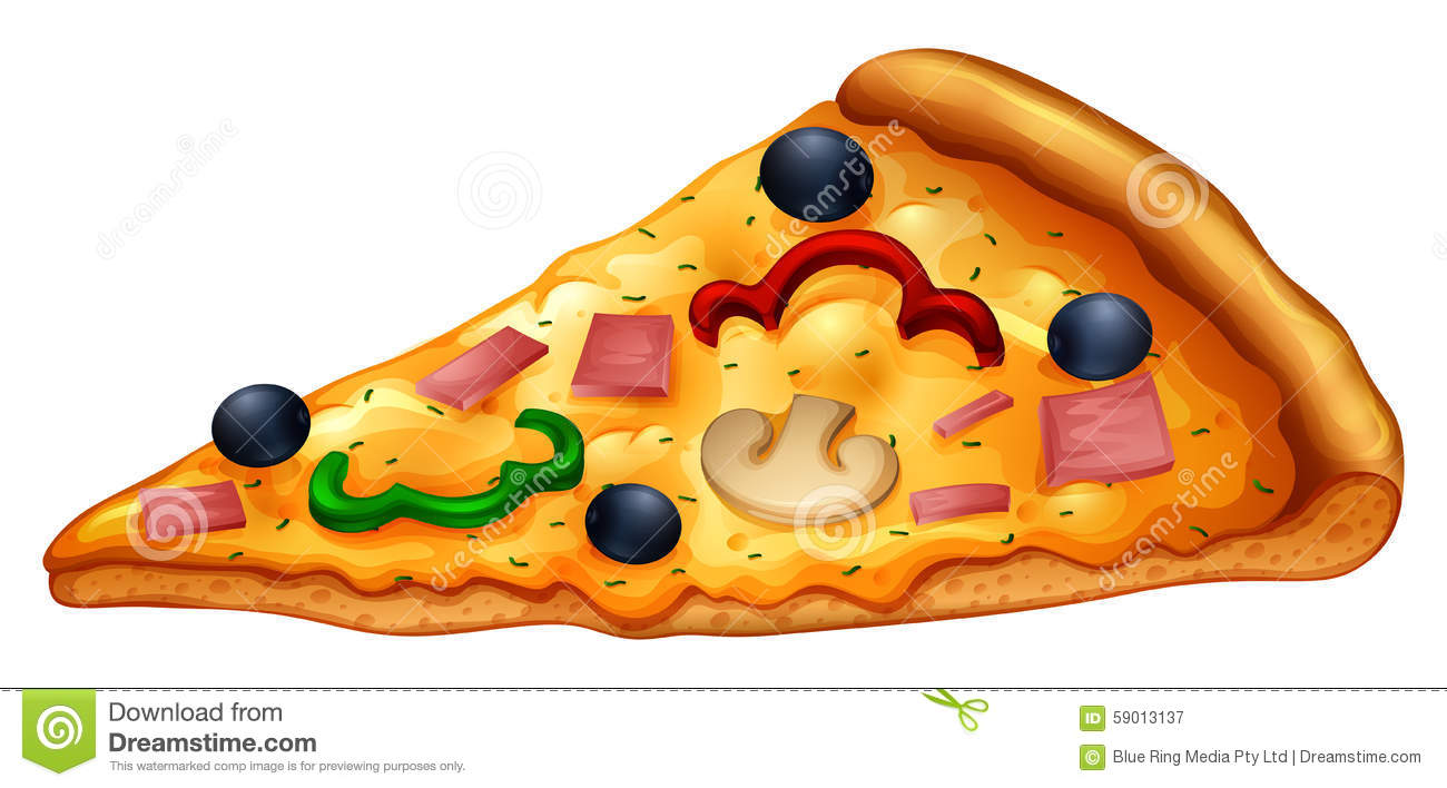 slice of pizza on white stock vector image 59013137 pizza slice clipart no background pizza slice clipart png