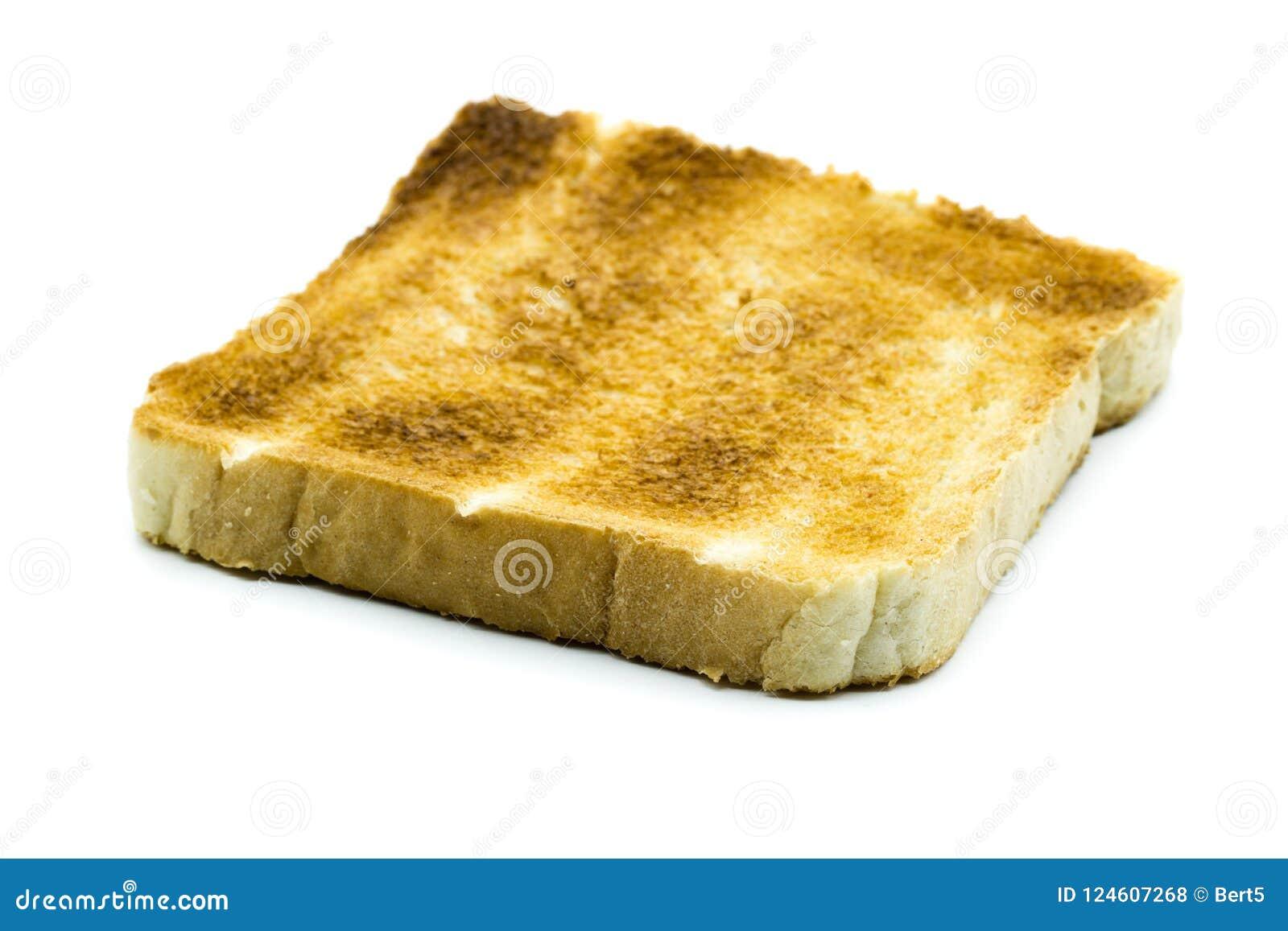 slice of toast isolated on white background stock photo image of