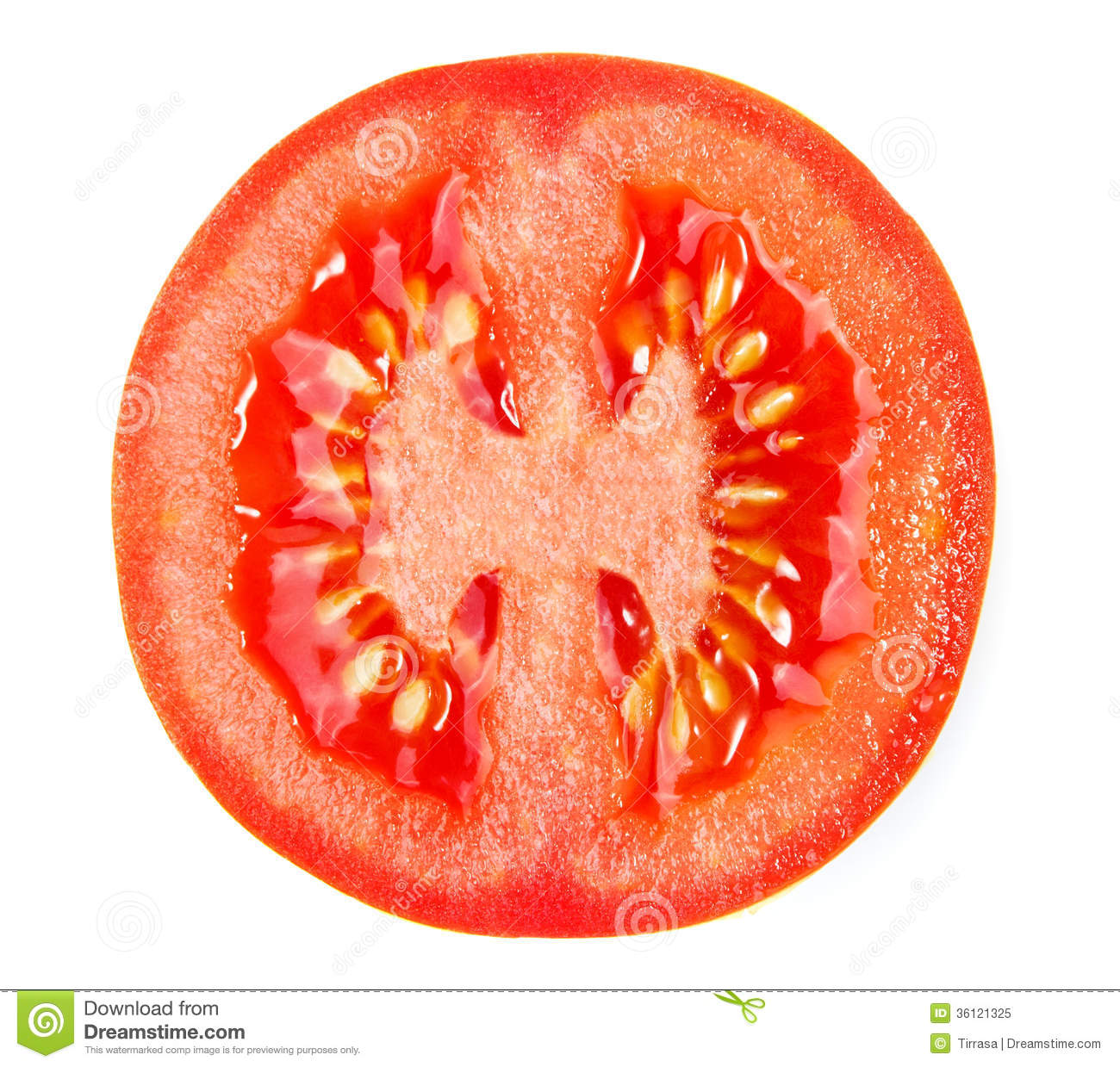 slice of tomato stock image image of juicy vitamin 36121325
