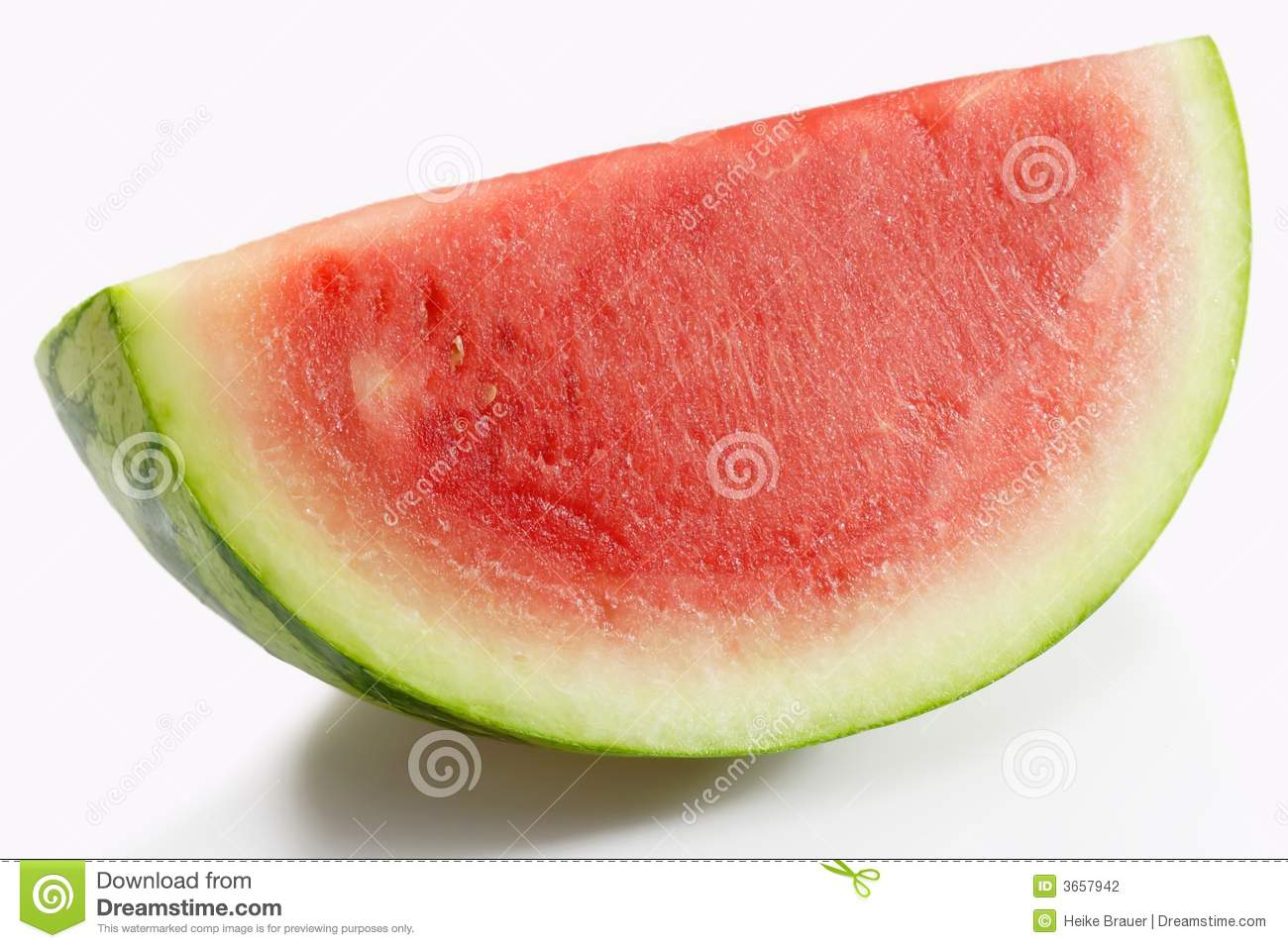 how to draw a slice of watermelon