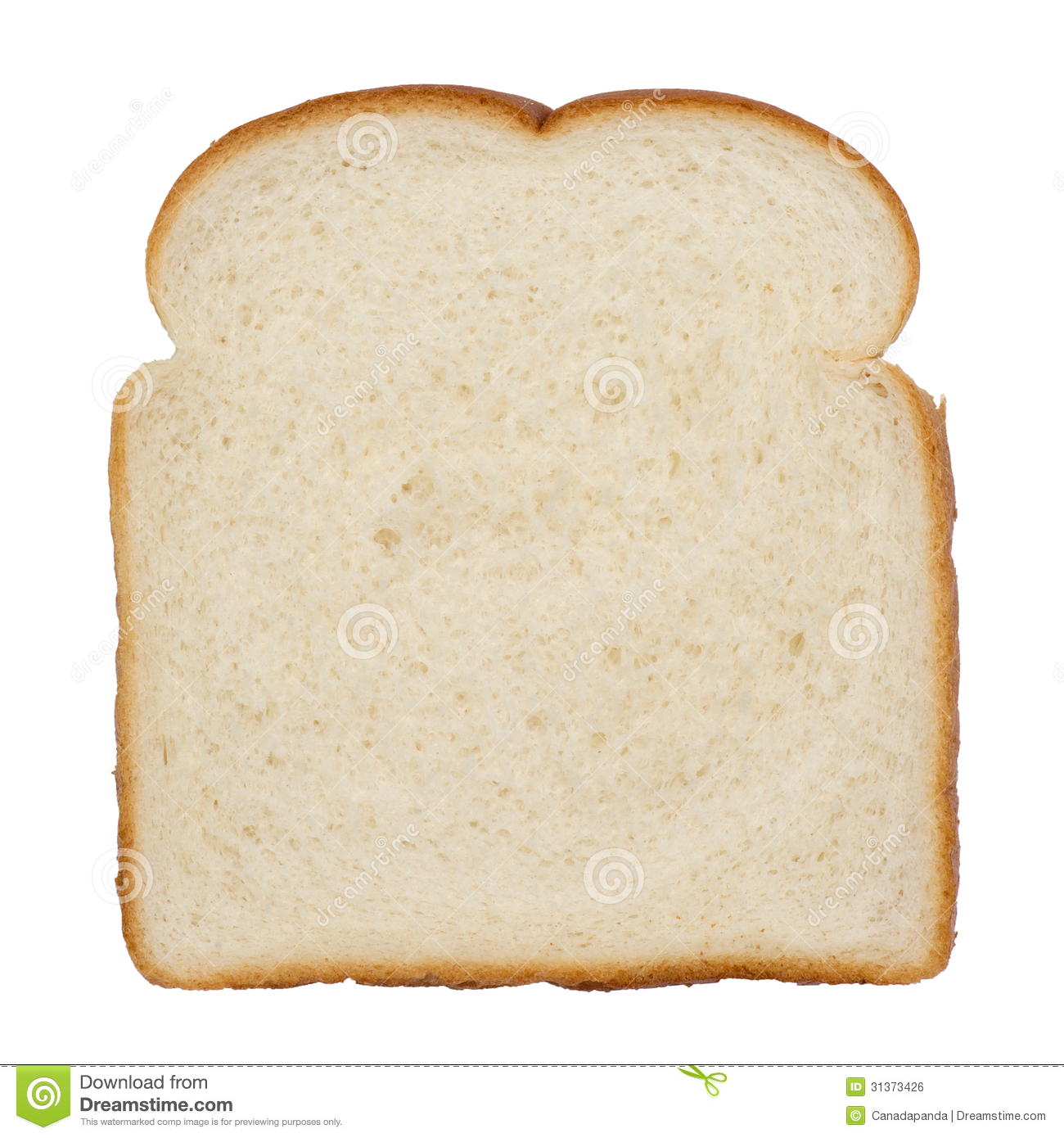slice of white bread stock photo image of food whole 31373426 rh dreamstime com free clipart slice of bread slice of bread clipart
