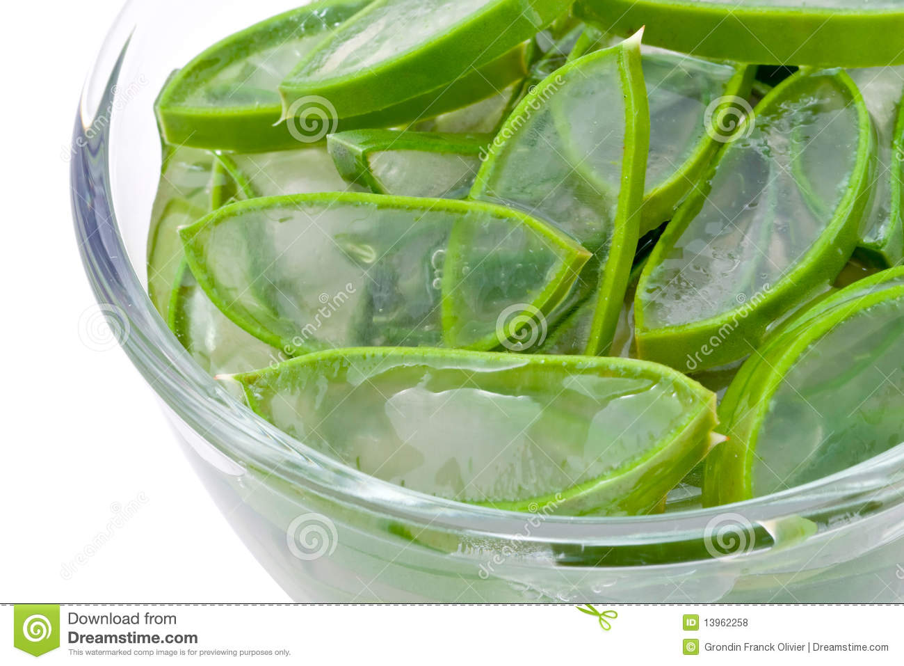 Sliced Aloe Vera Plant Royalty Free Stock Photos  Image: 13962258