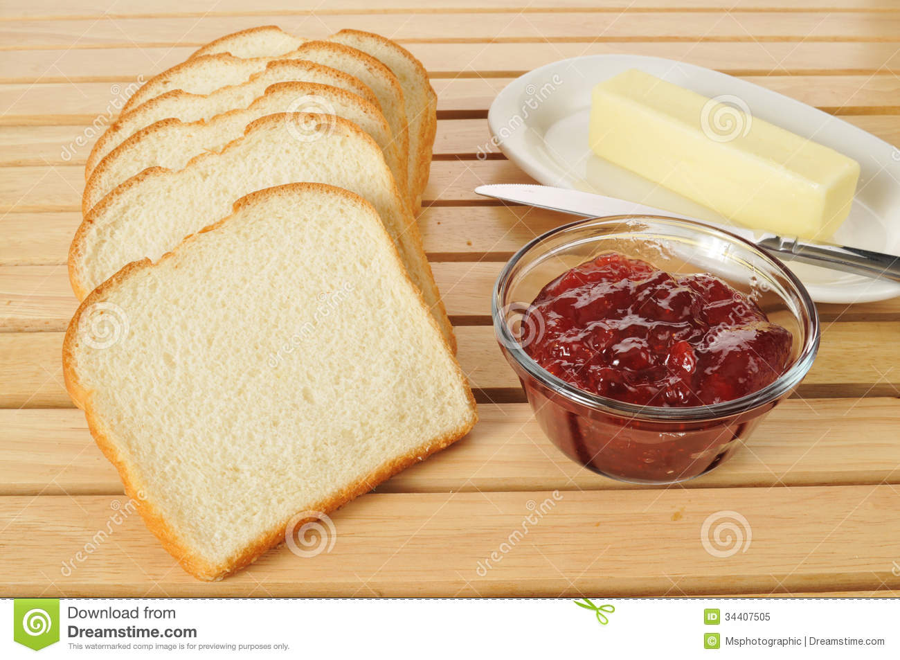 Sliced Bread Royalty Free Stock Photo - Image: 34407505