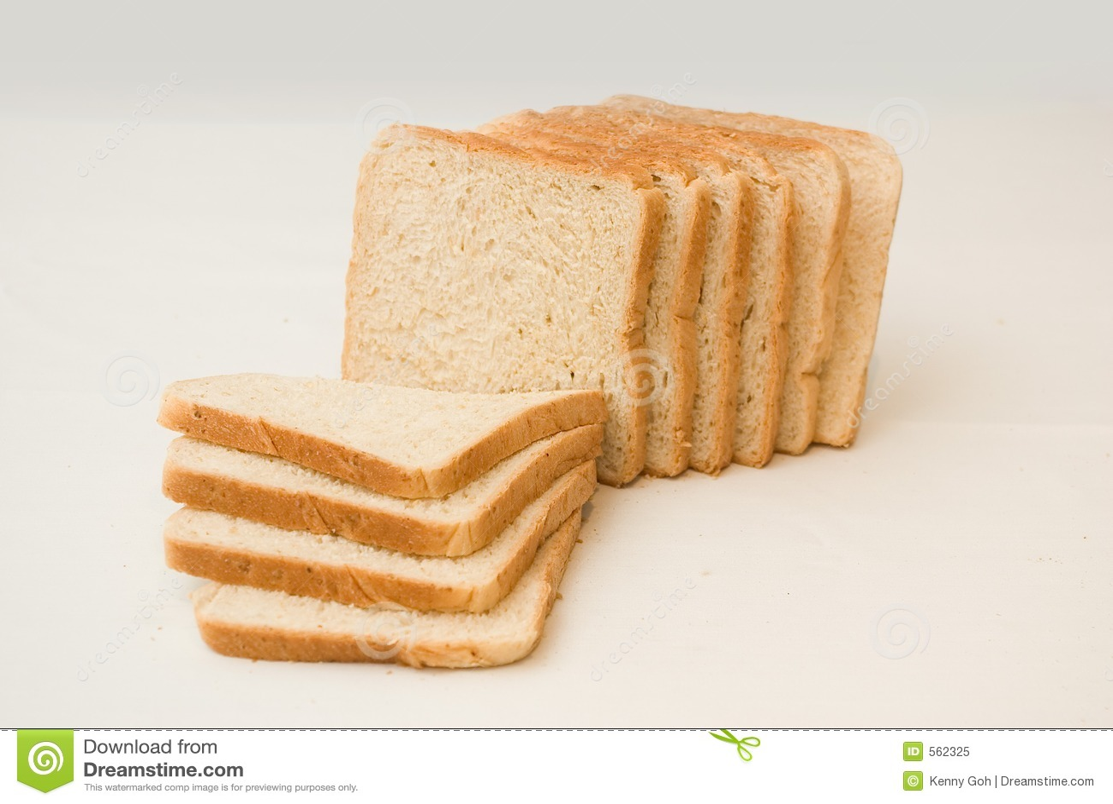 Sliced Bread Loaf Stock Image Image Of Brown Supper