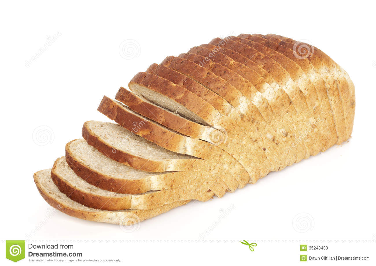 Sliced Bread Loaf Stock Image Image Of Grain Whole
