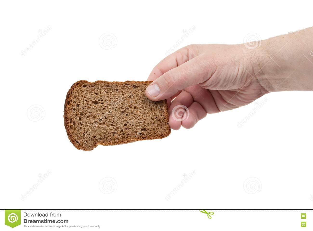 sliced bread win hand stock photography image 19751222