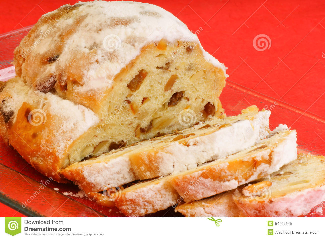 German Stollen Cake Recipe