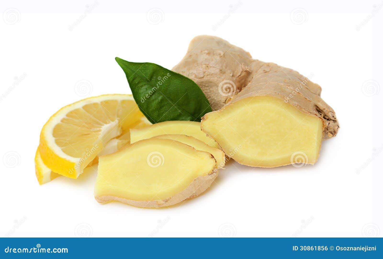 Sliced Ginger With Lemon Royalty Free Stock Image Image