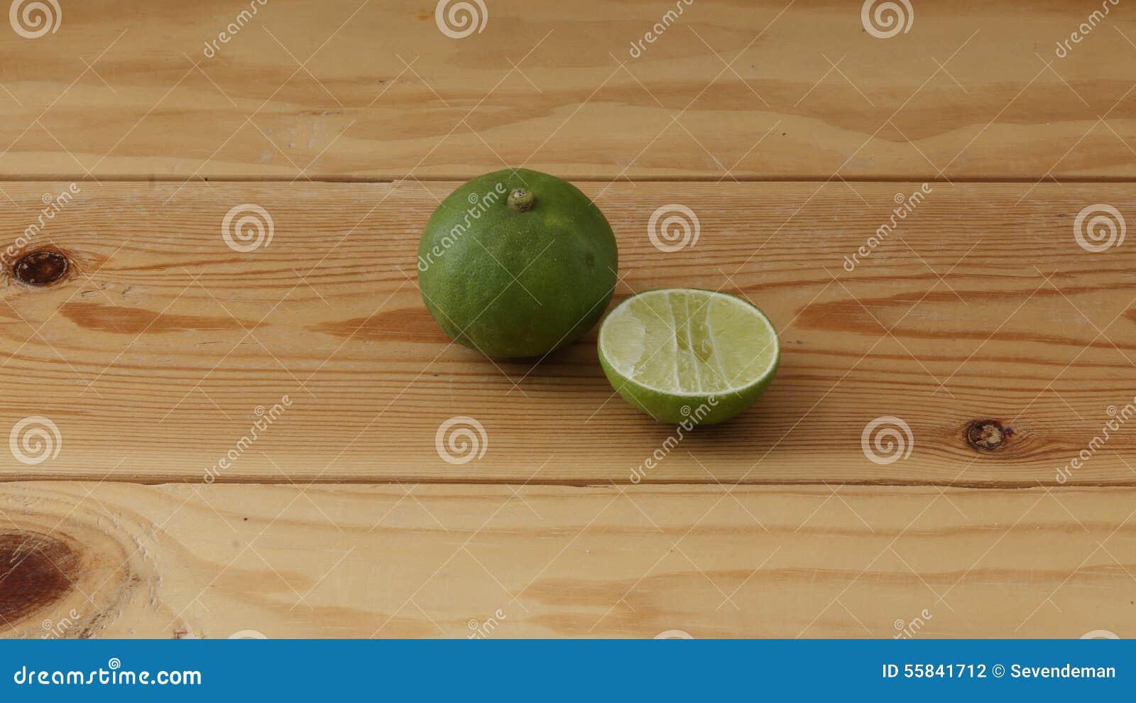 Sliced lime.