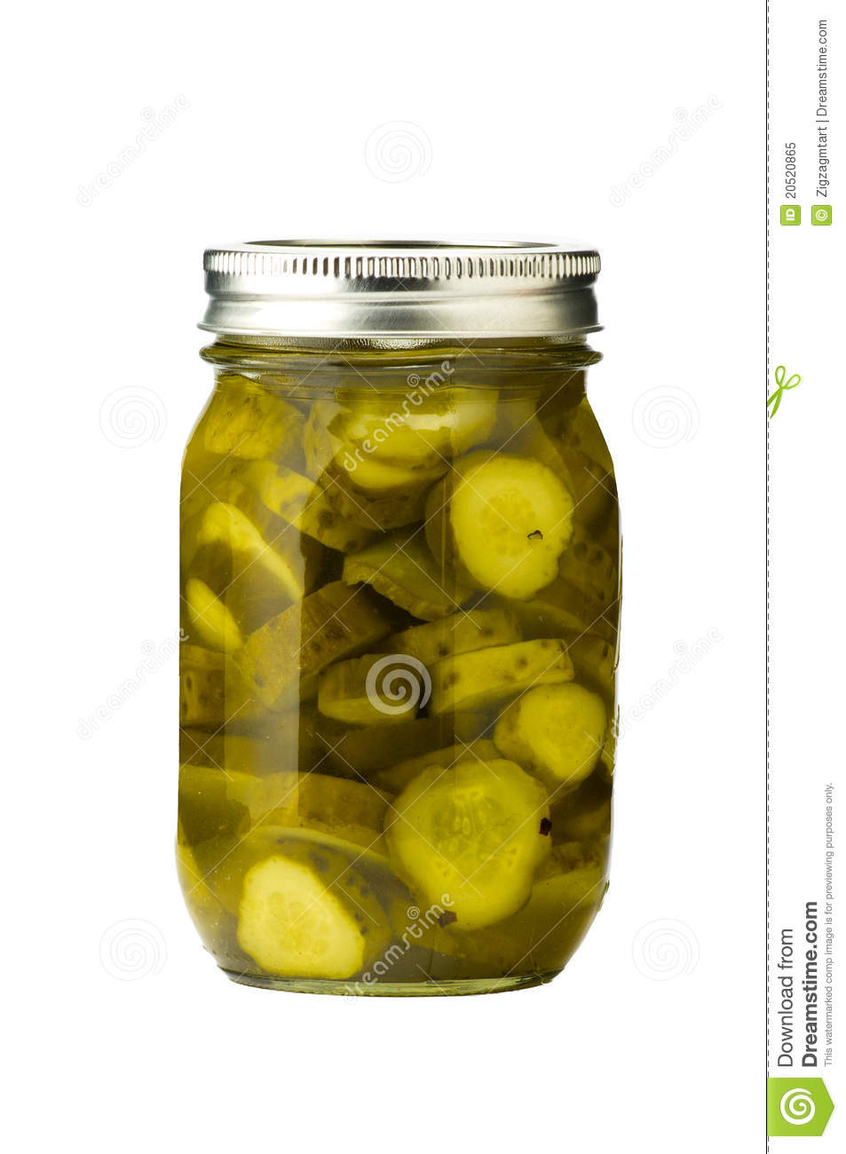 Sliced Pickles Royalty Free Stock Photo - Image: 20520865