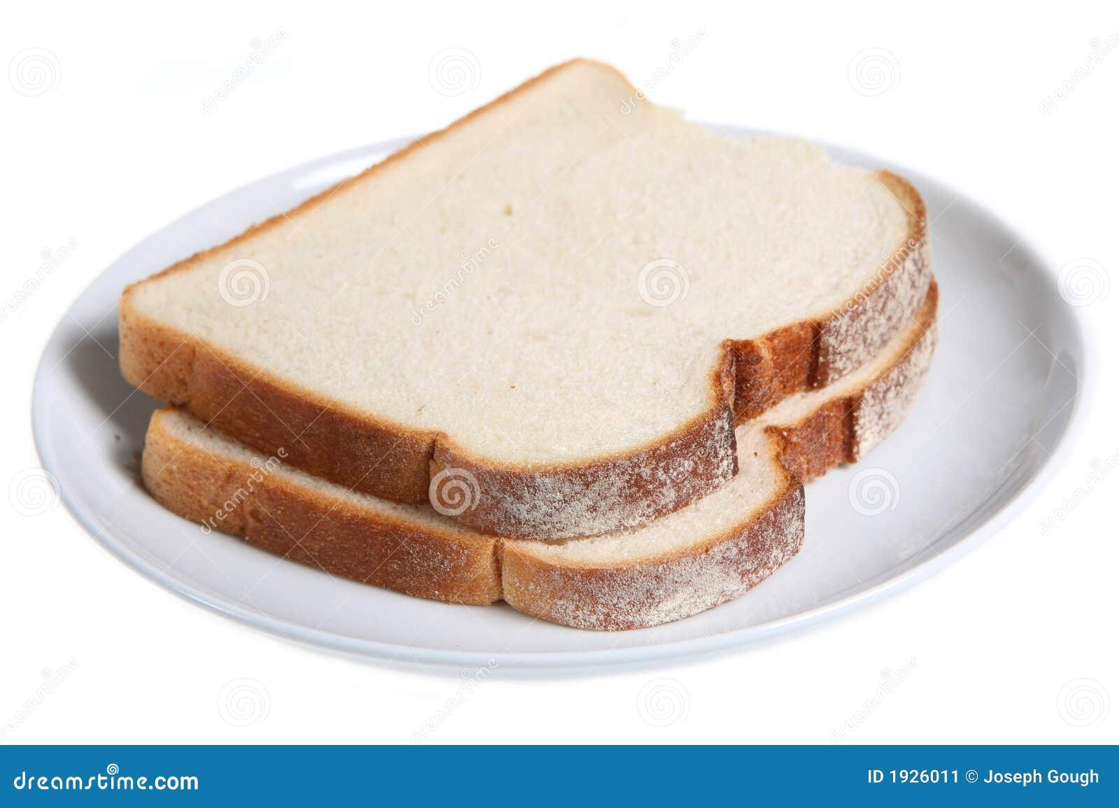 Sliced White Bread Stock Image - Image: 1926011